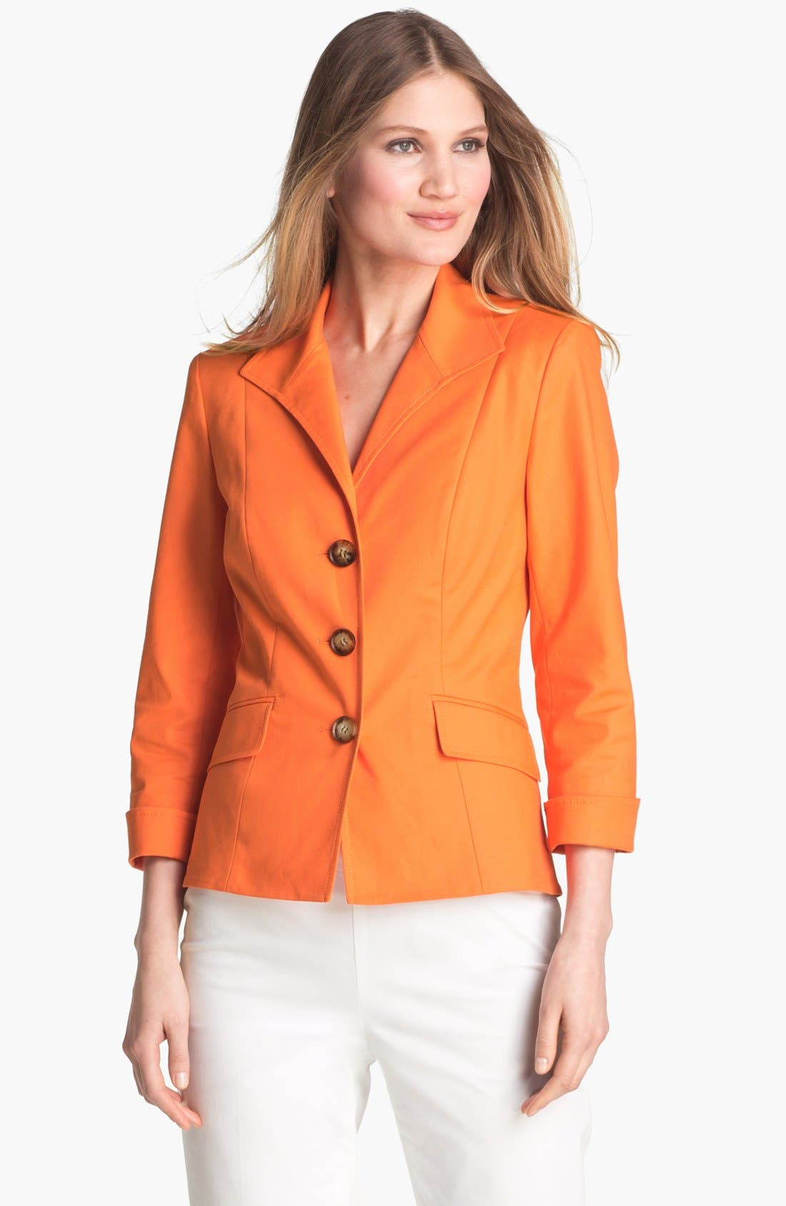 Alternate Image 1 Selected - Lafayette 148 New York 'Piola - Metro Stretch' Jacket