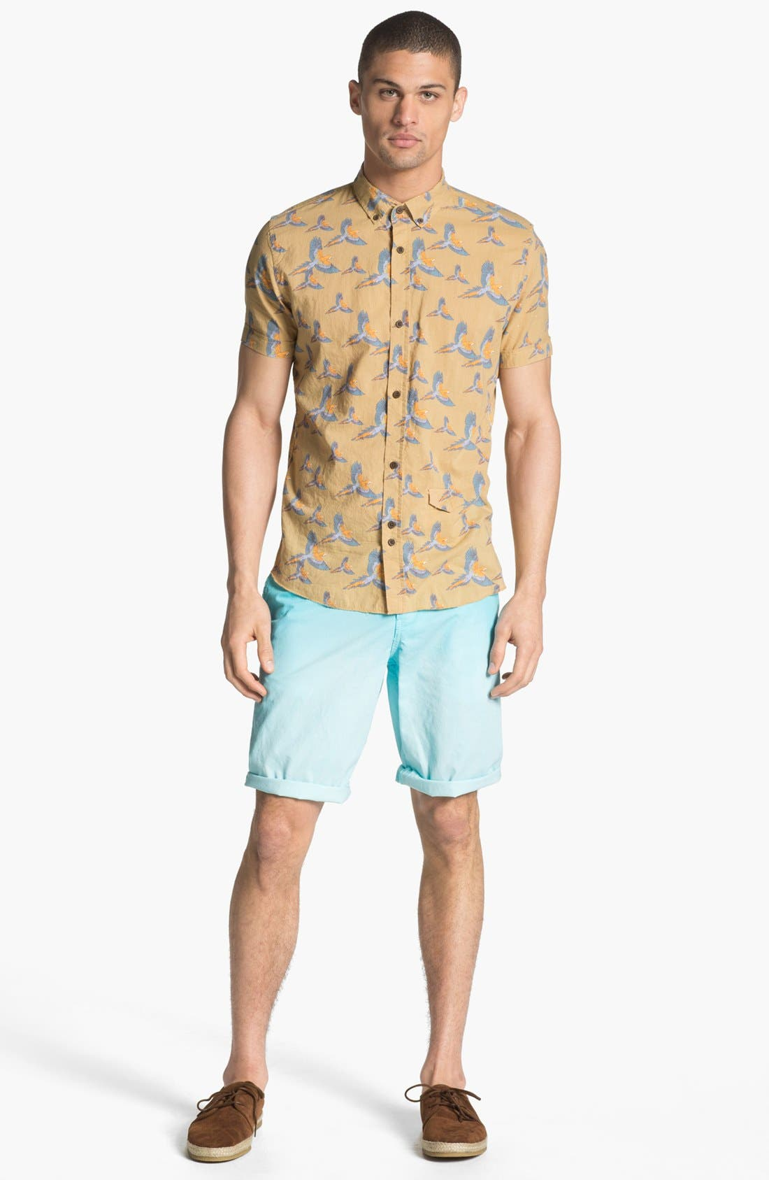 Alternate Image 4  - ZANEROBE Print Woven Shirt