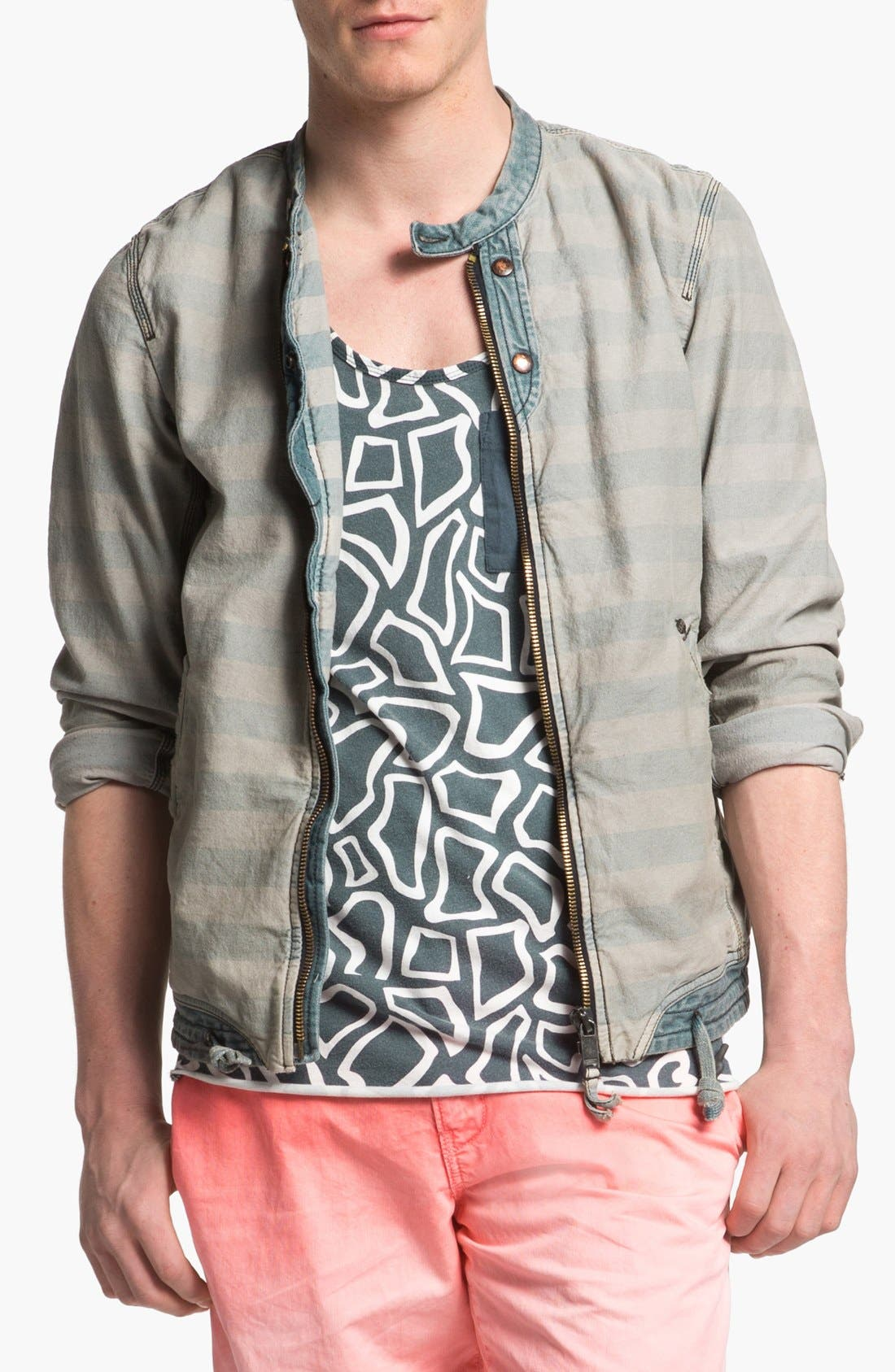 Main Image - DIESEL® 'Meeby' Stripe Jacket