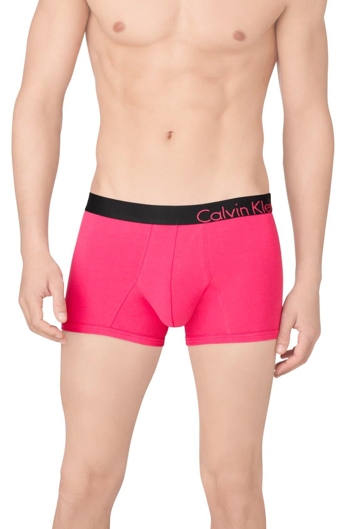 Main Image - Calvin Klein 'Bold Cotton - U8902' Trunks (Online Only)