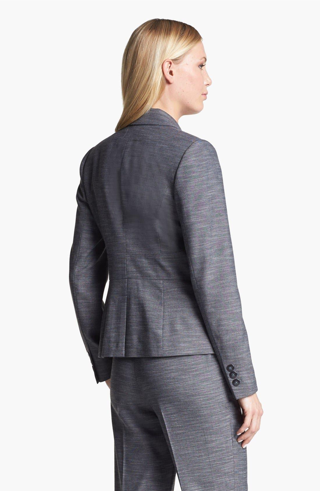 Alternate Image 2  - Classiques Entier® 'Silvia' Mélange Jacket