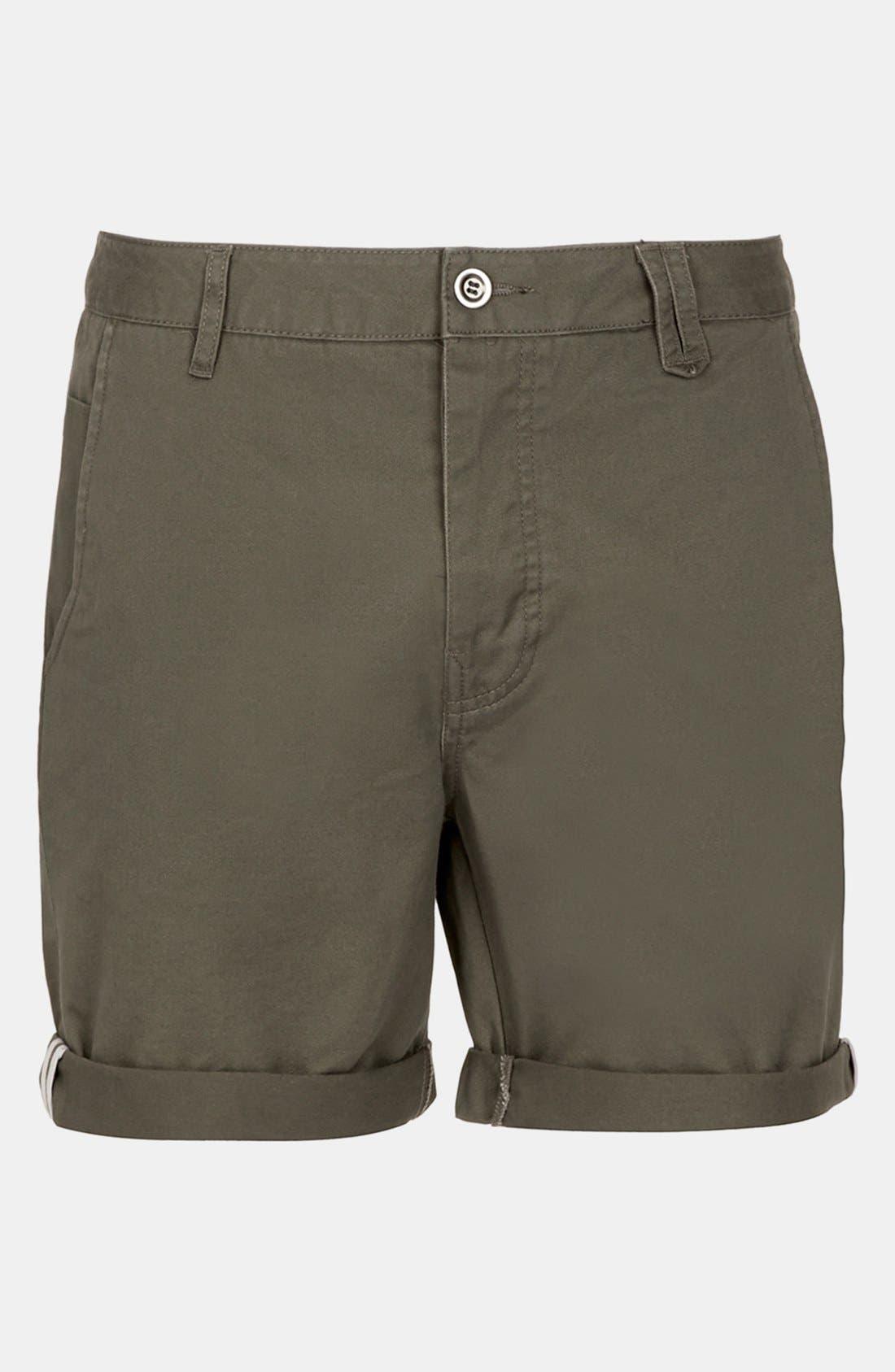 Alternate Image 1 Selected - Topman Cotton Shorts