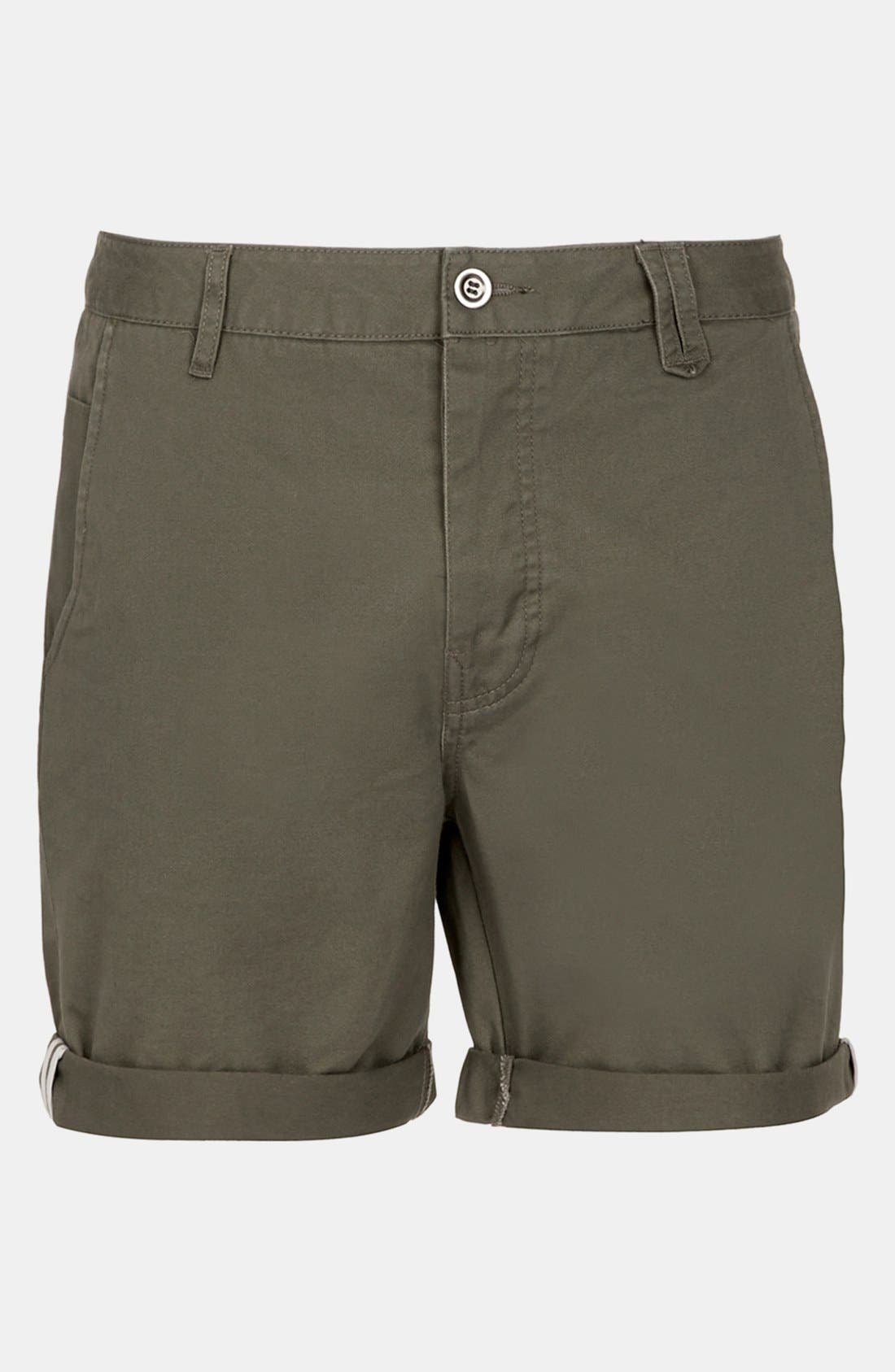 Main Image - Topman Cotton Shorts