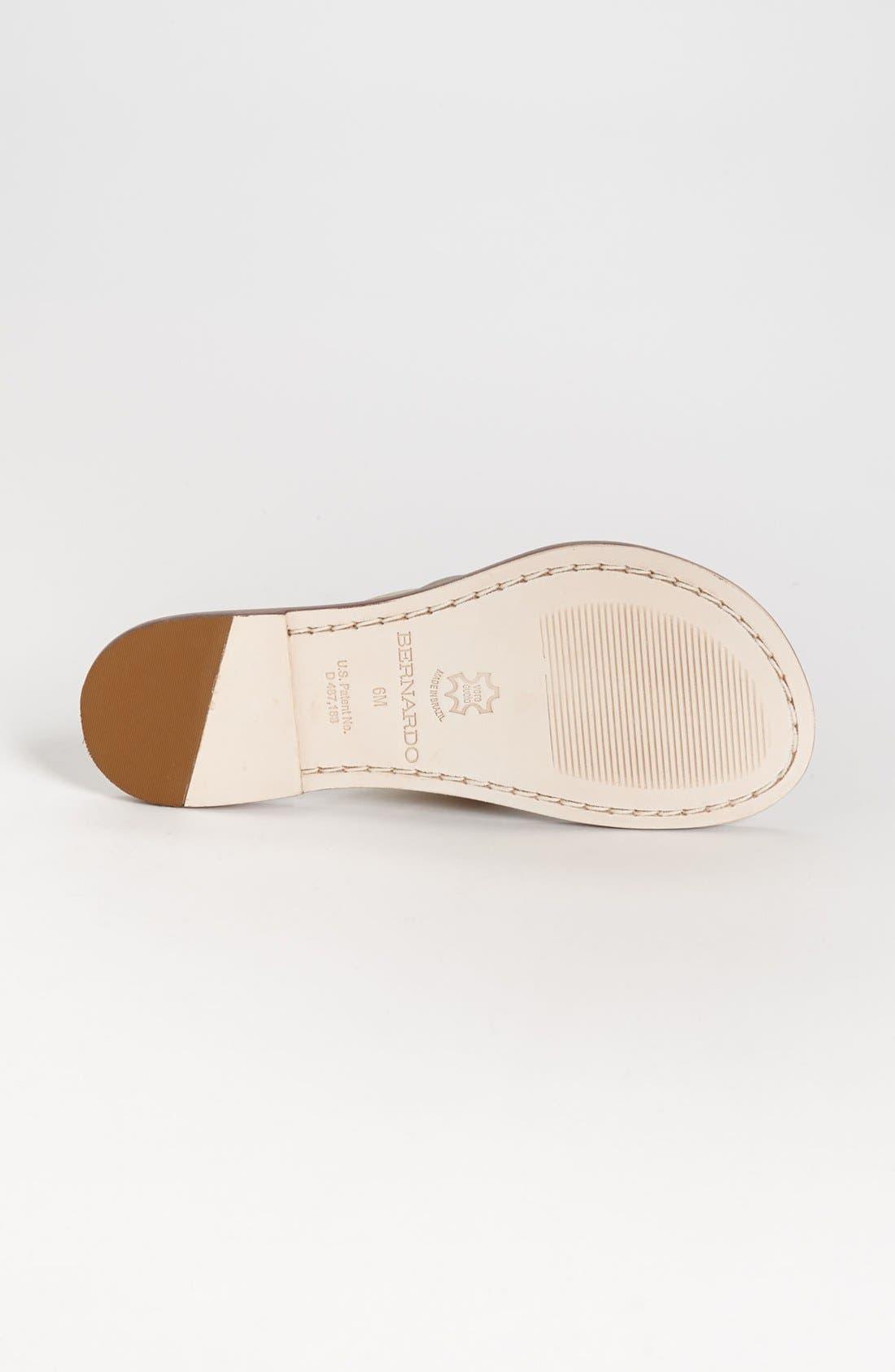 Alternate Image 4  - Bernardo Footwear Miami Sandal