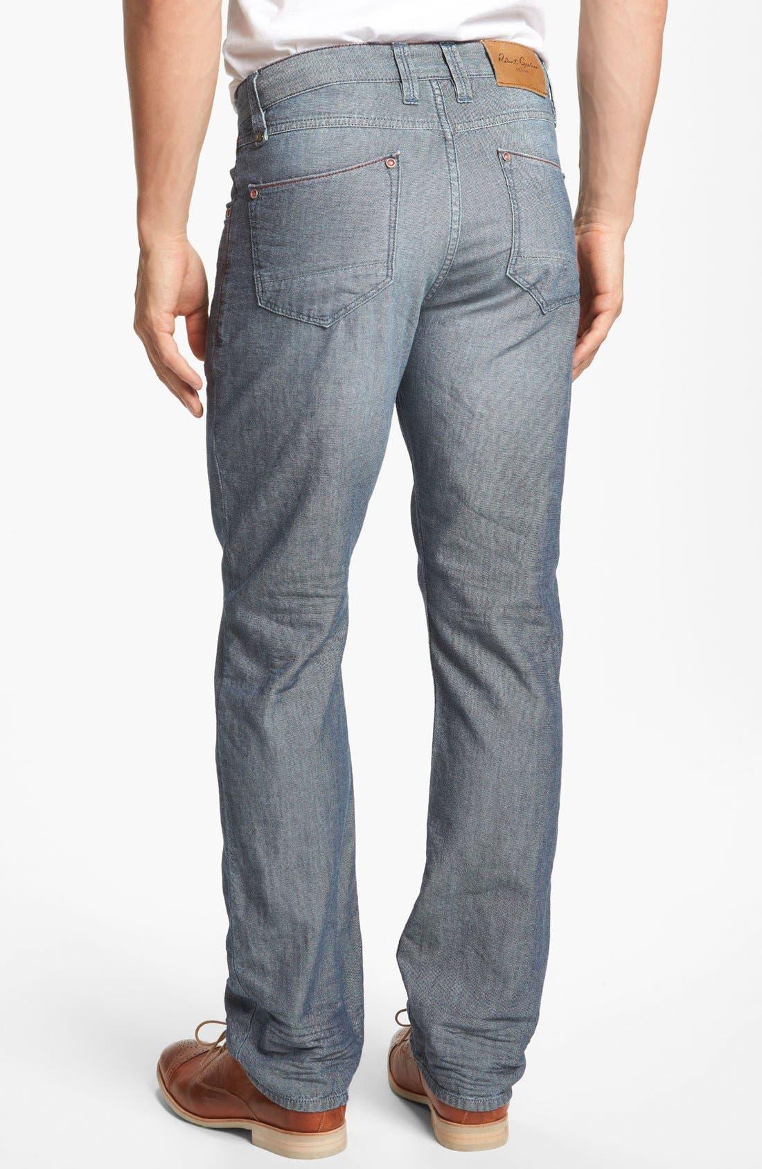 Alternate Image 2  - Robert Graham 'Denim Nails' Classic Fit Jeans (Indigo)