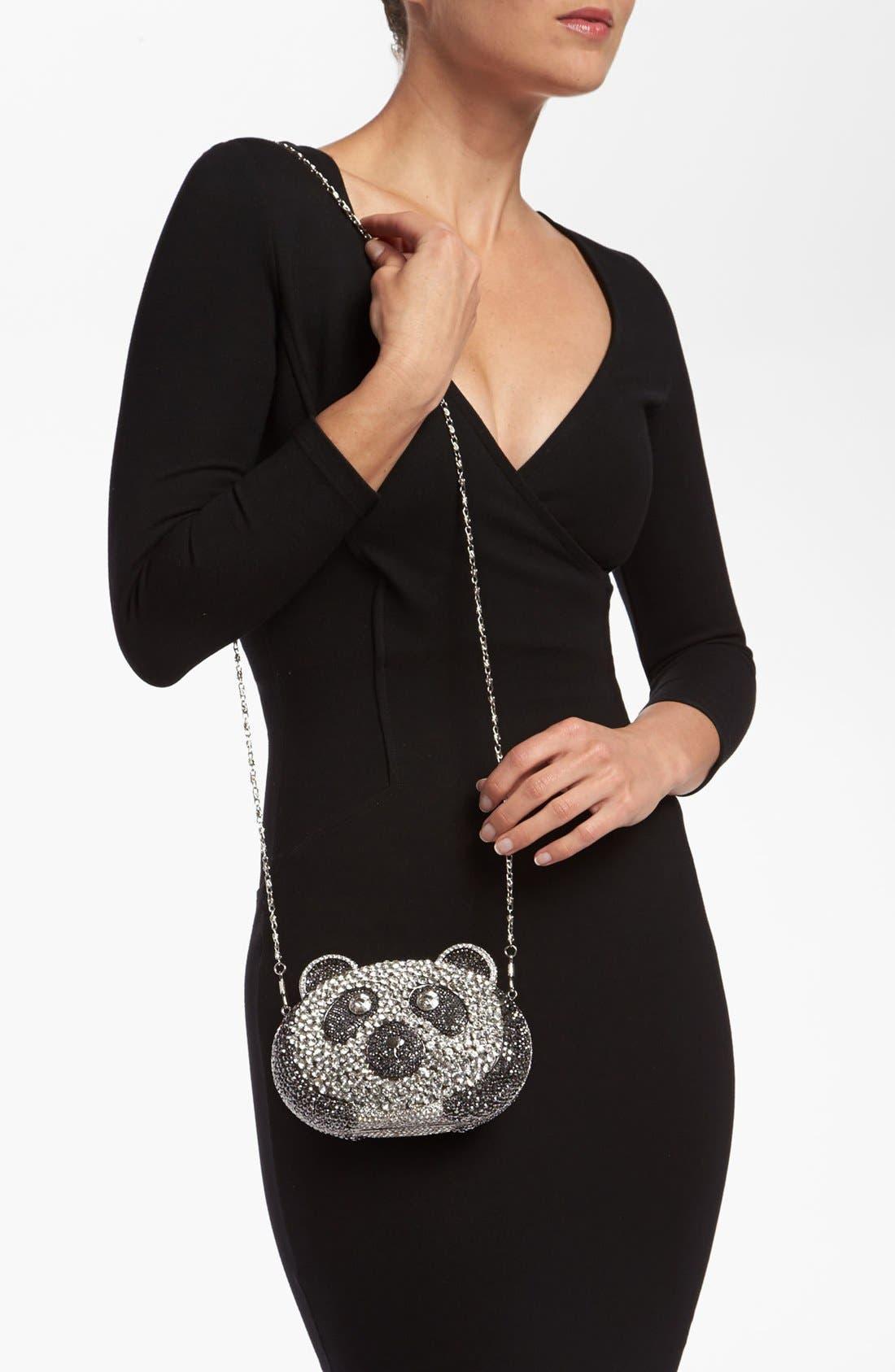 Alternate Image 2  - Natasha Couture Panda Clutch