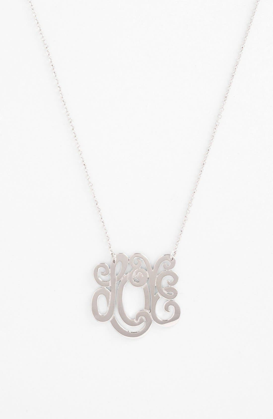 Alternate Image 1 Selected - Ariella Collection 'Love' Pendant Necklace (Nordstrom Exclusive)