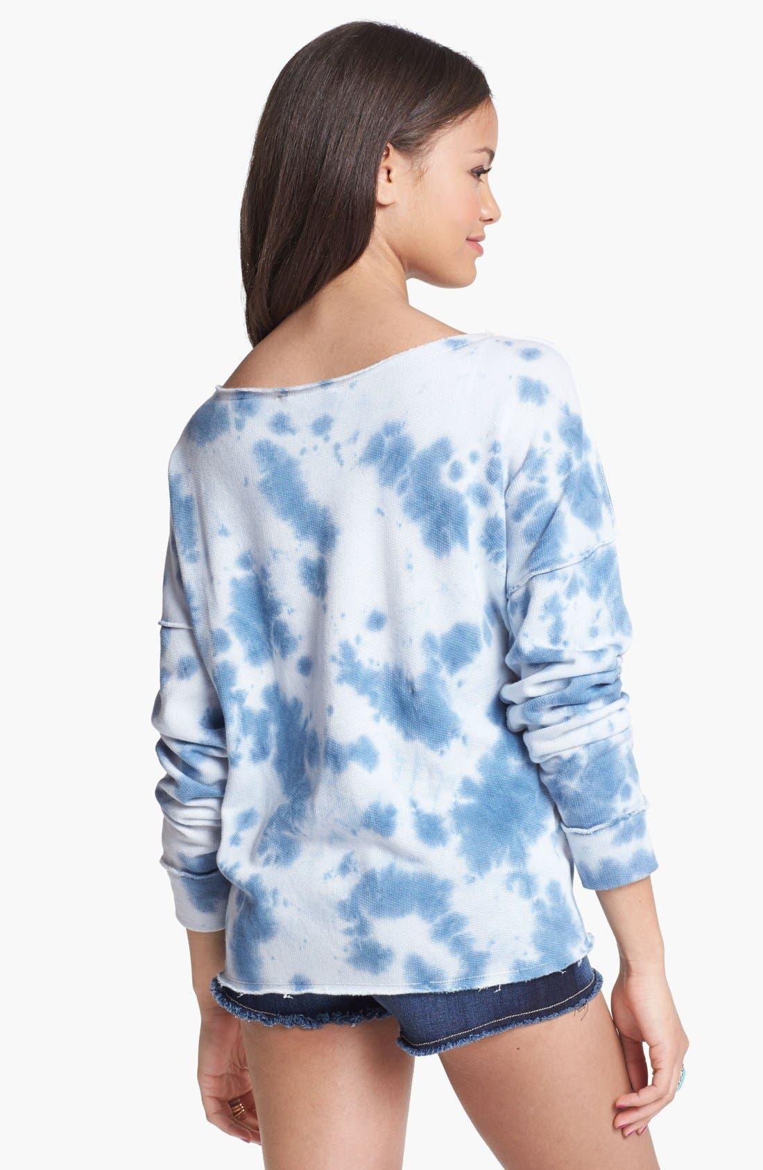 Alternate Image 2  - Rubbish 'Seam Out' Sweatshirt (Juniors)