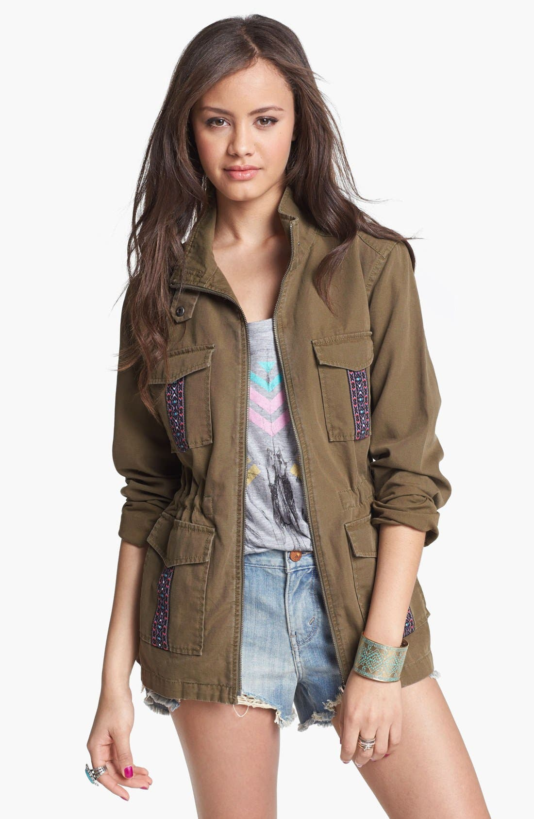 Alternate Image 1 Selected - Rubbish® Field Jacket (Juniors)
