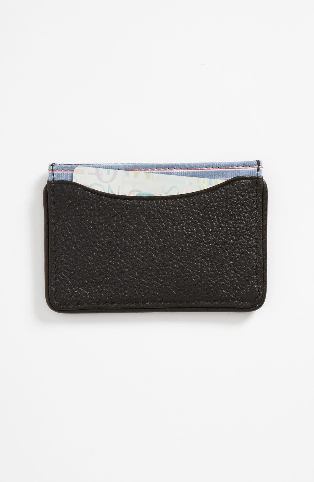 Alternate Image 1 Selected - Jack Spade Leather Card Case