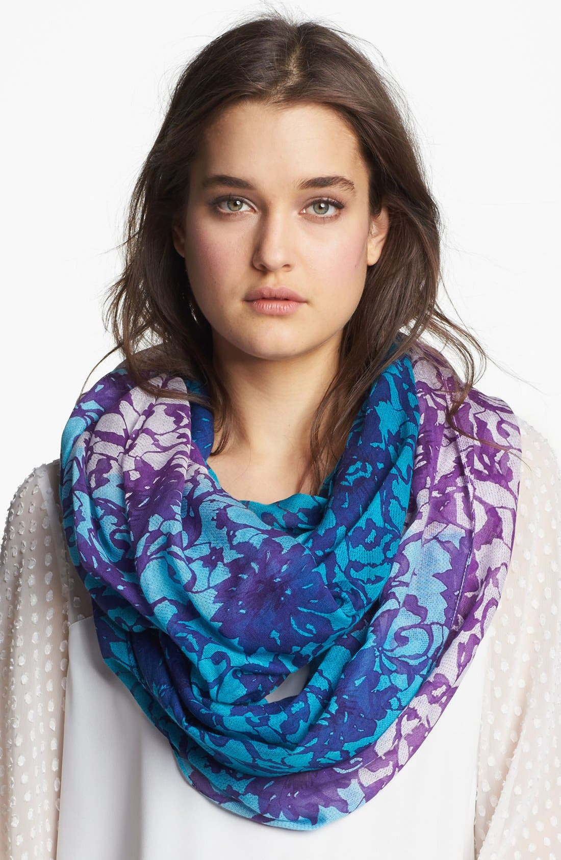 Alternate Image 1 Selected - Lulla Collection by Bindya 'Lace' Infinity Scarf
