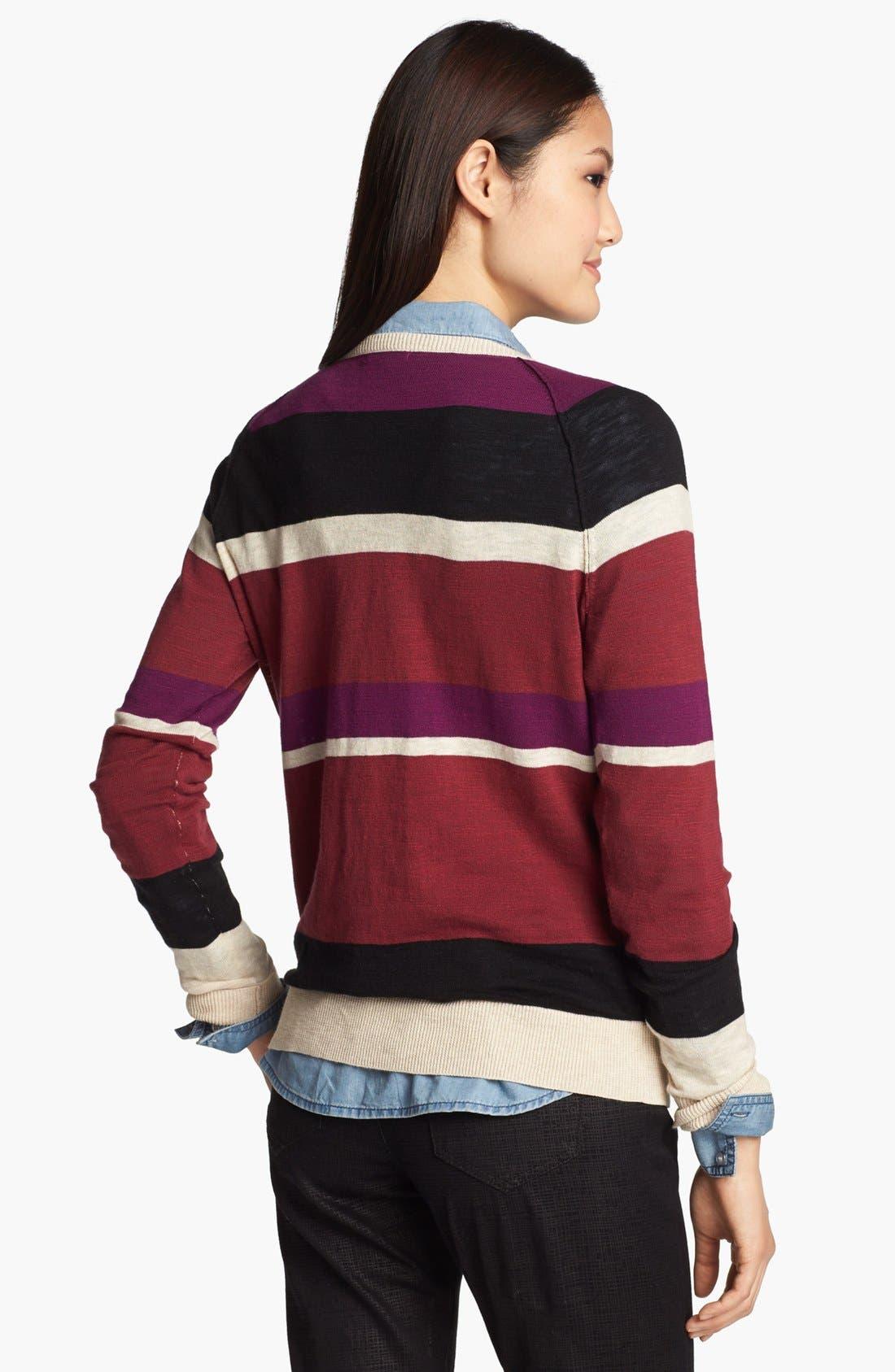Alternate Image 2  - Halogen® Novelty Sweater