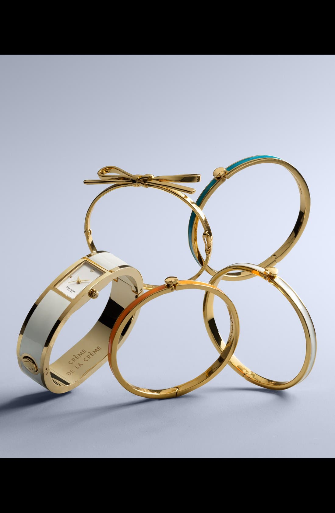 Alternate Image 4  - kate spade new york 'skinny mini' bow bangle