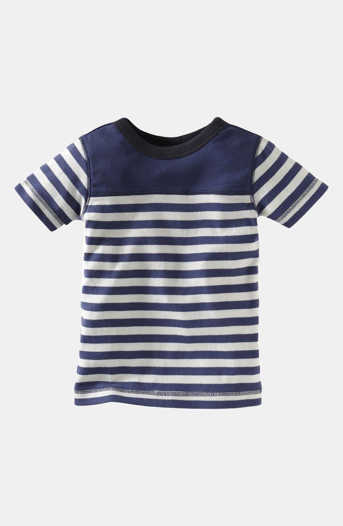 Alternate Image 1 Selected - Tea Collection 'Coastal Stripe' T-Shirt (Toddler)