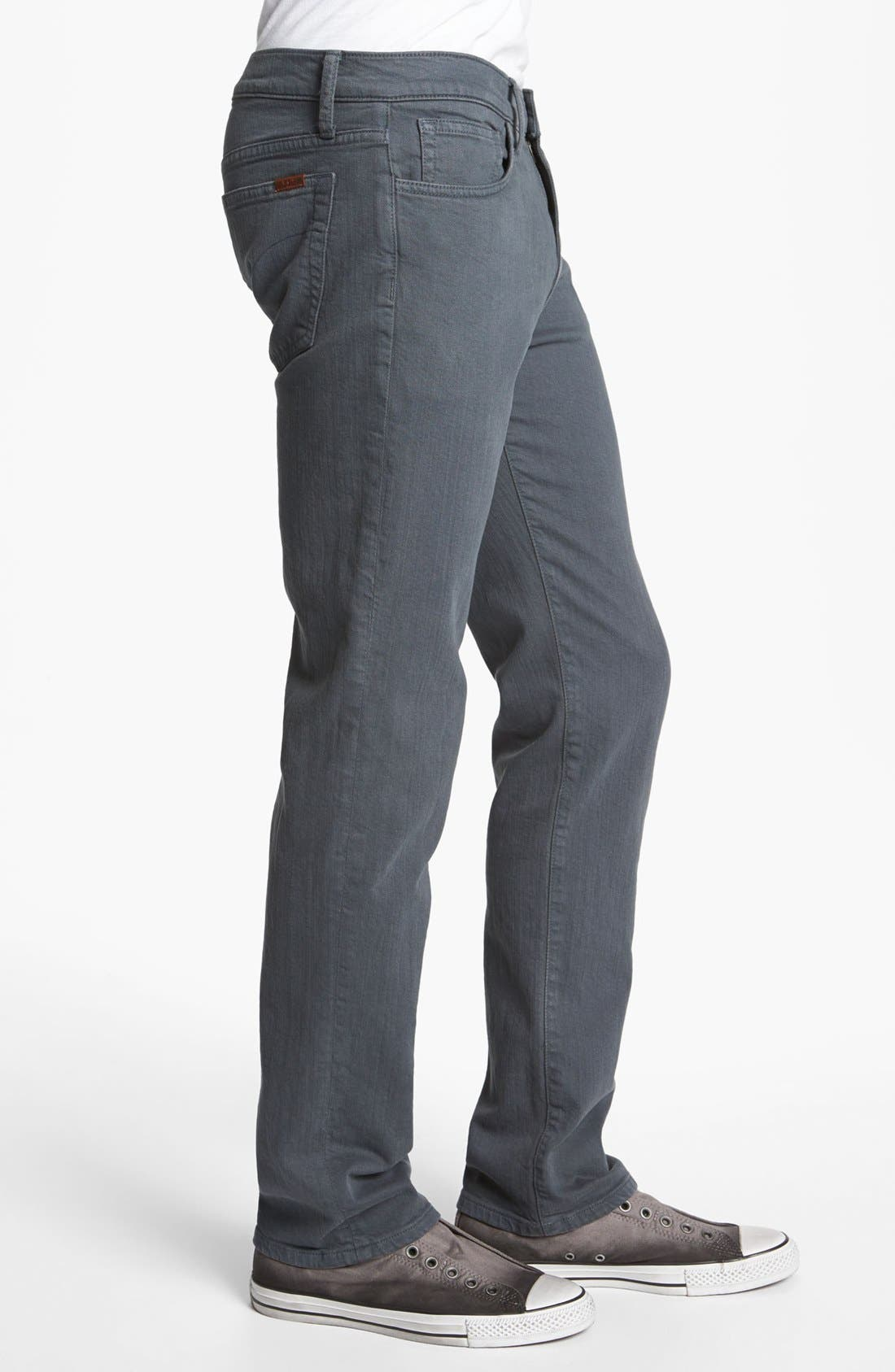 Alternate Image 3  - Joe's 'Classic' Straight Leg Jeans (Asphalt)