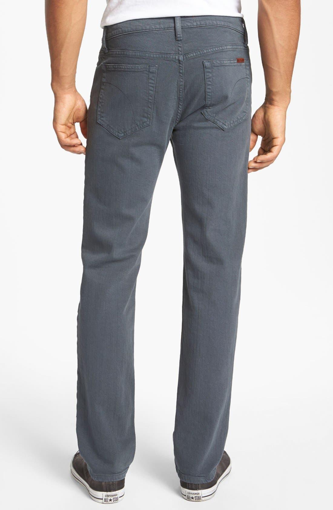 Alternate Image 1 Selected - Joe's 'Classic' Straight Leg Jeans (Asphalt)