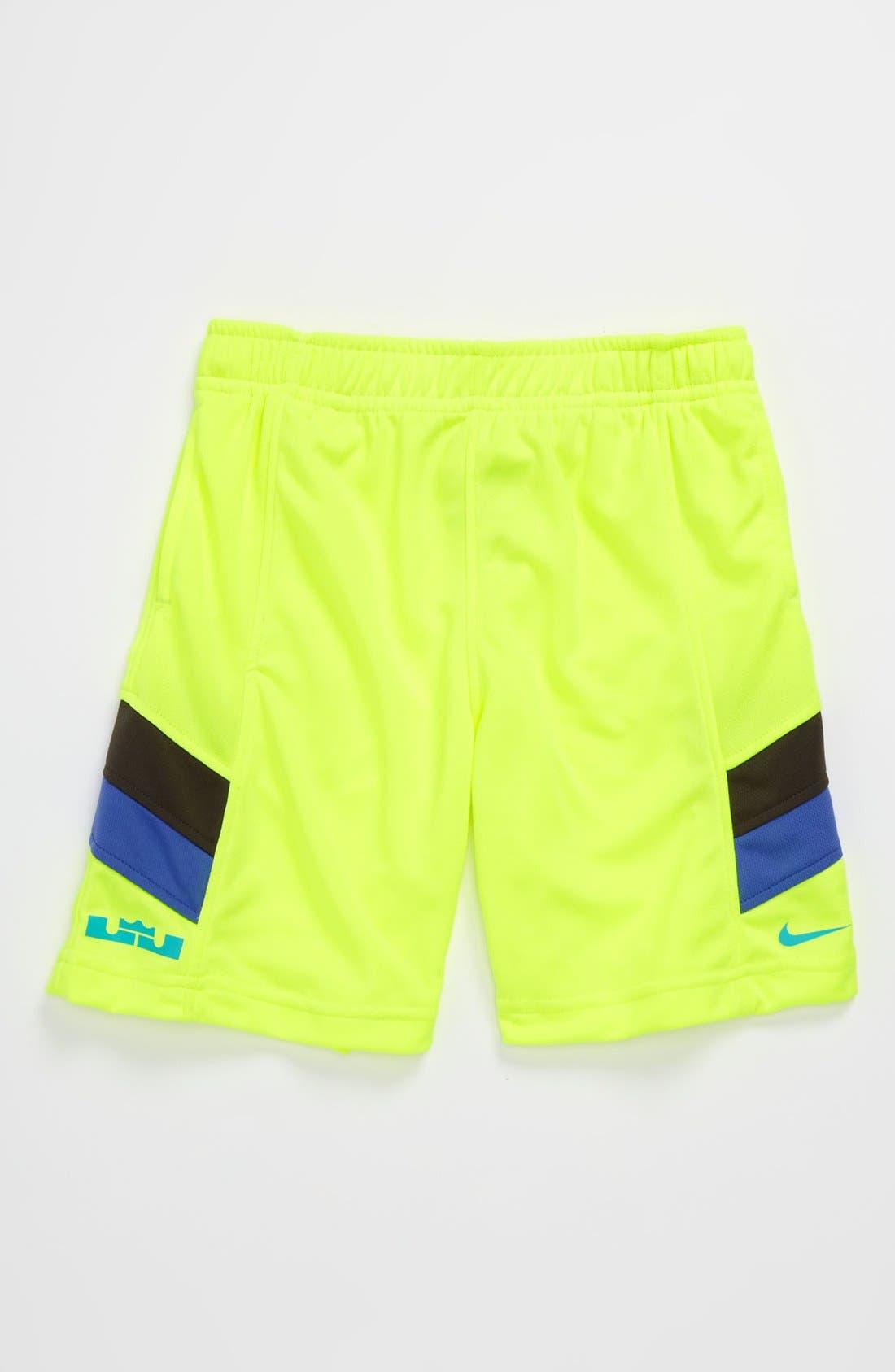 Alternate Image 1 Selected - Nike 'LeBron Essential' Shorts (Little Boys)