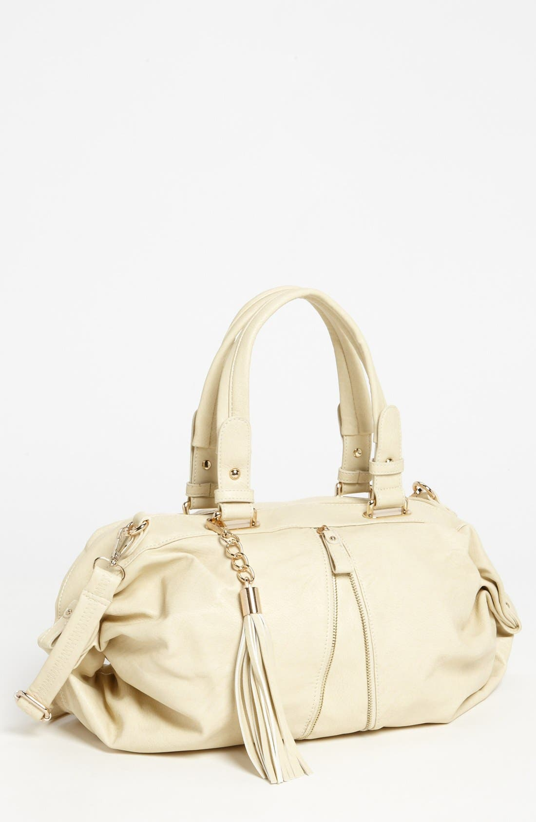 Main Image - Emperia Front Zipper Satchel, Medium
