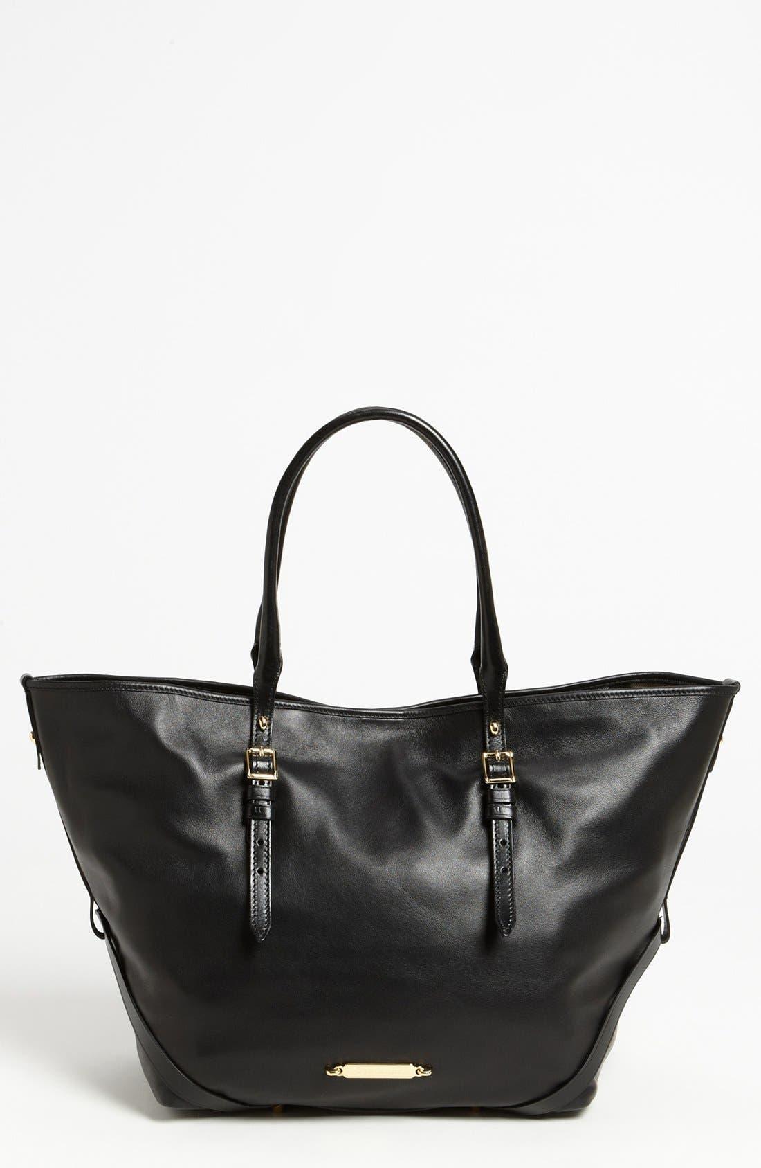 Main Image - Burberry 'Medium Bridle' Leather Tote