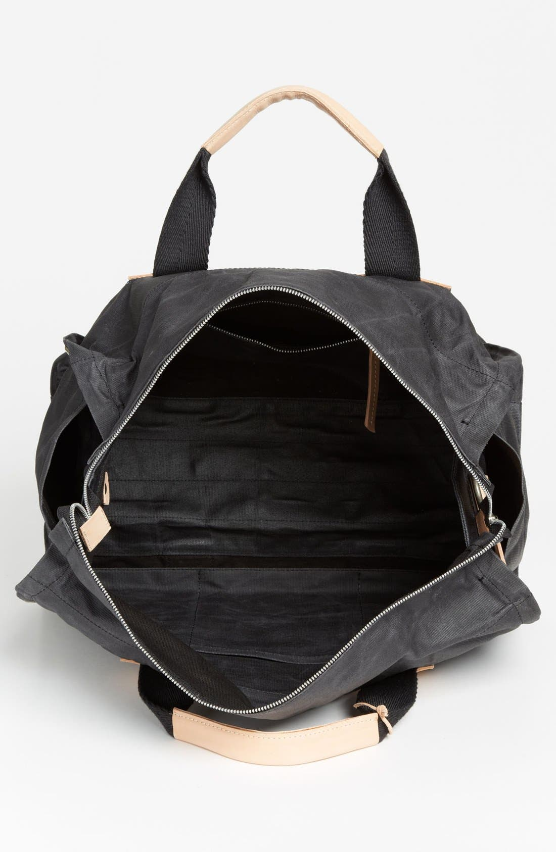 Alternate Image 3  - Will Leather Goods Canvas Duffel Bag