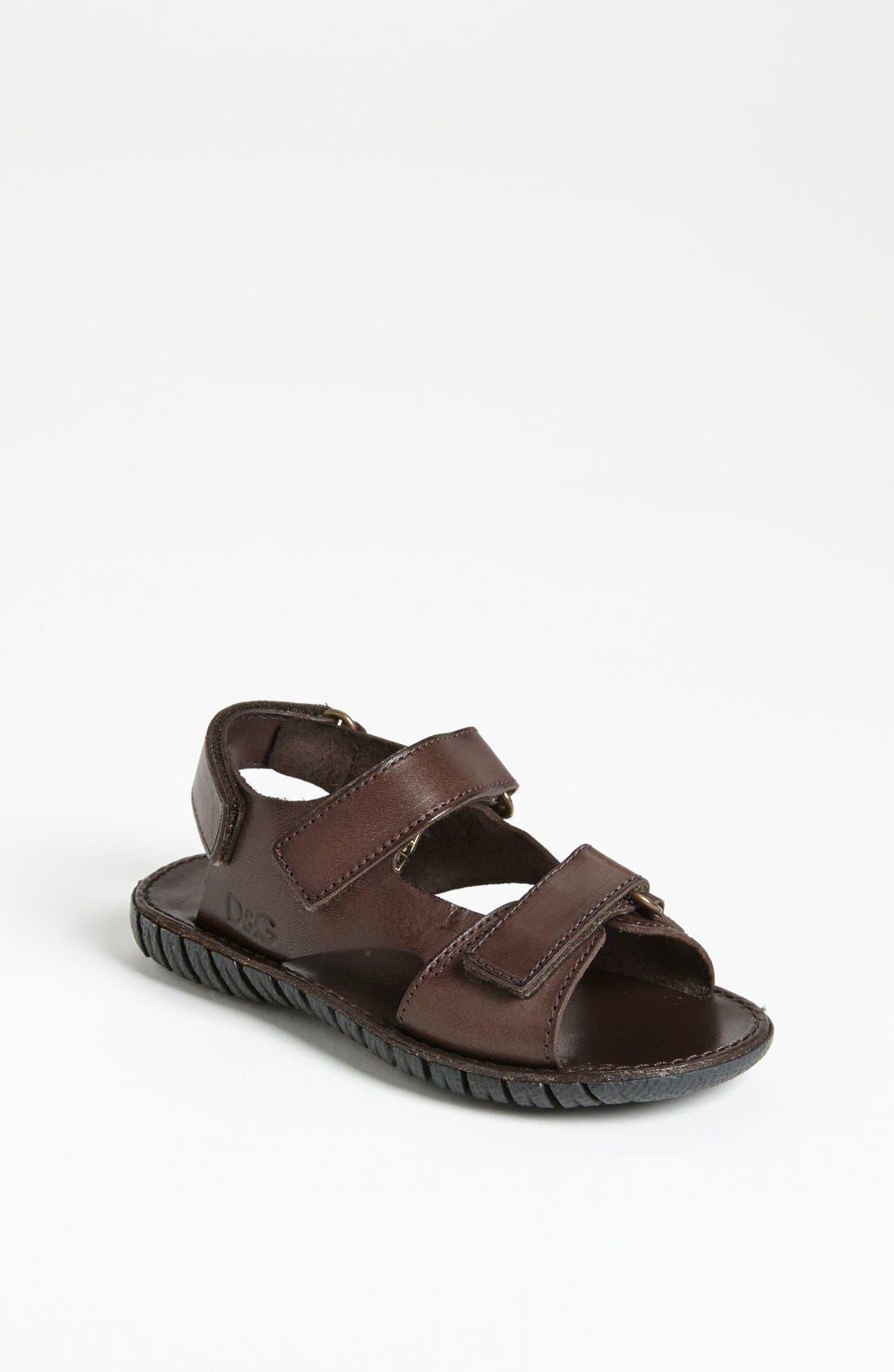 Alternate Image 1 Selected - Dolce&Gabbana Sandal (Toddler)