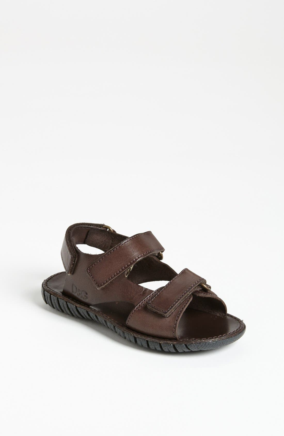 Main Image - Dolce&Gabbana Sandal (Toddler)