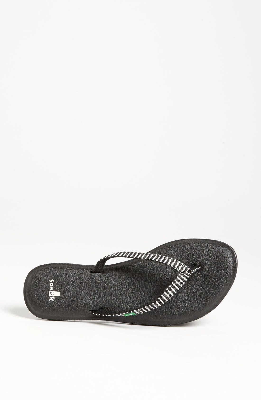 Alternate Image 3  - Sanuk 'Yoga Spree Funk' Flip Flop (Women)
