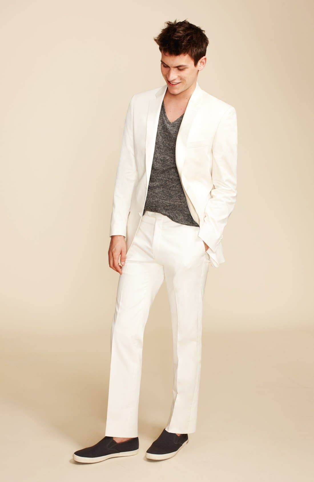 Alternate Image 4  - John Varvatos Star USA 'Loft' Trim Fit Blazer