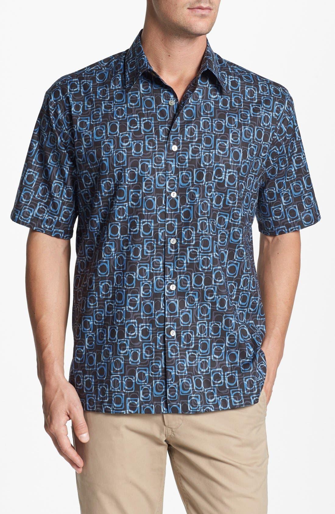 Alternate Image 1 Selected - Tori Richard 'Eclipse' Cotton Lawn Campshirt