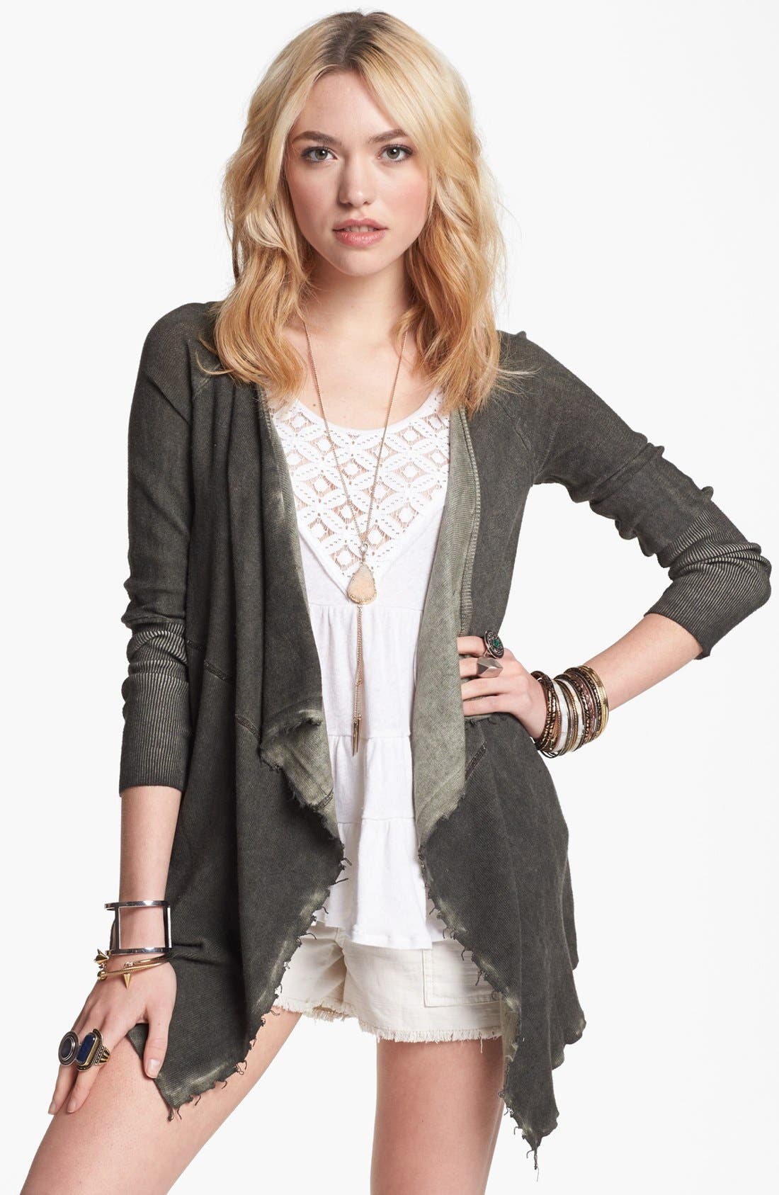 Alternate Image 1 Selected - Free People 'By the Way' Cardigan