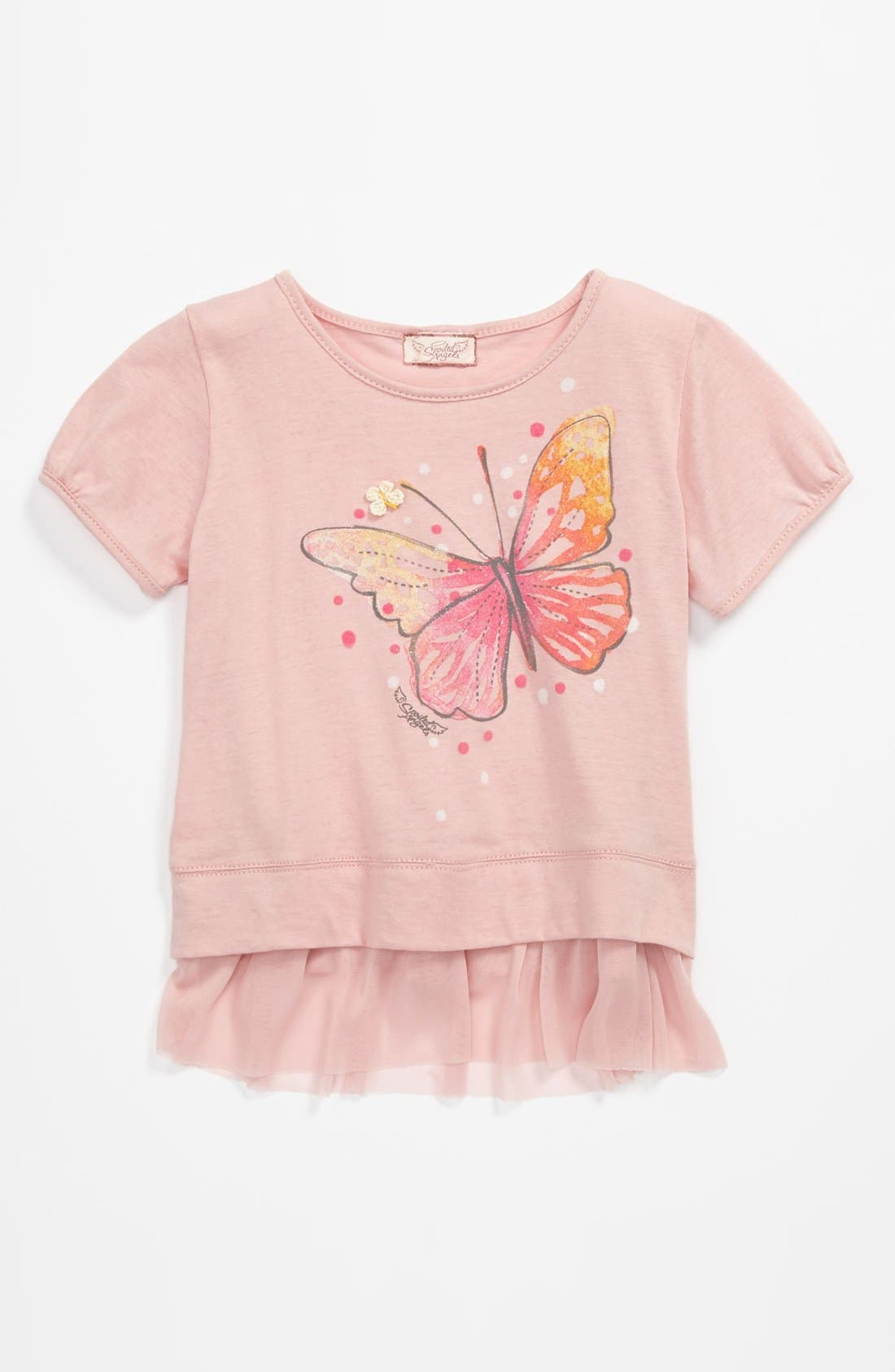 Alternate Image 1 Selected - Spoiled Angels 'Butterfly' Top (Toddler)