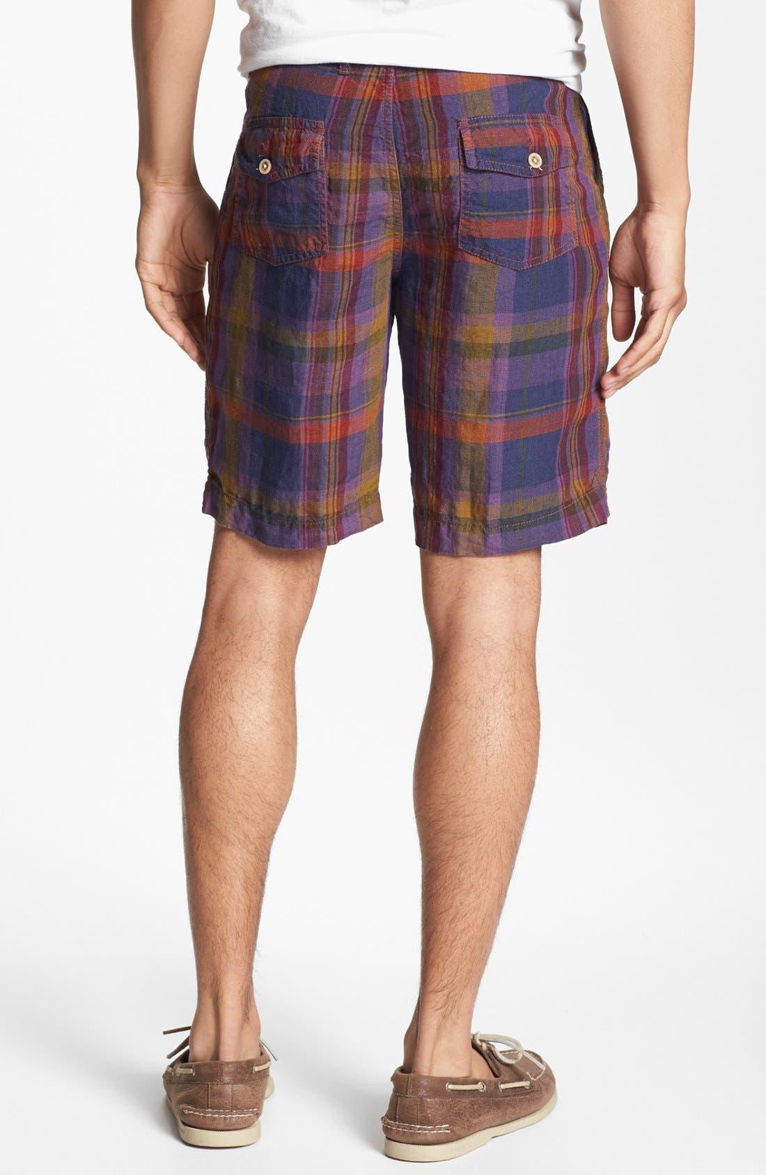 Alternate Image 2  - Shirt by Shirt 'Guam' Plaid Shorts