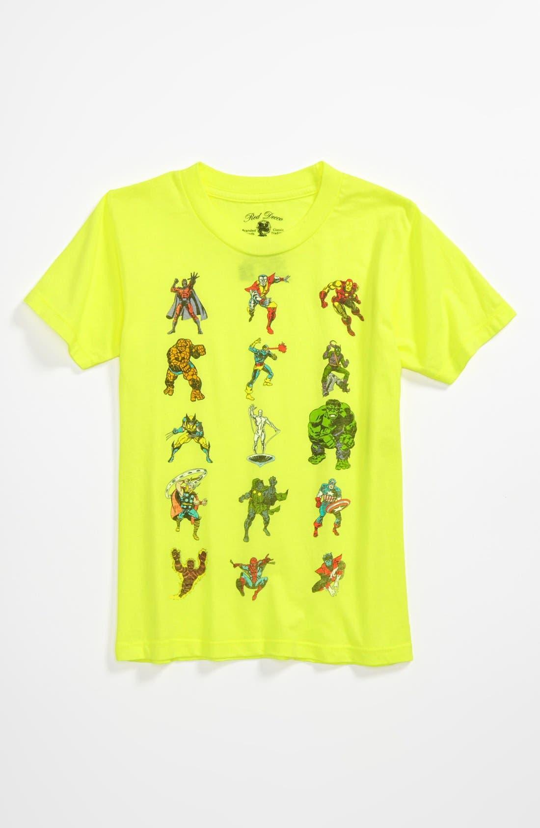 Alternate Image 1 Selected - Mad Engine 'Stack 'Em High' T-Shirt (Little Boys)