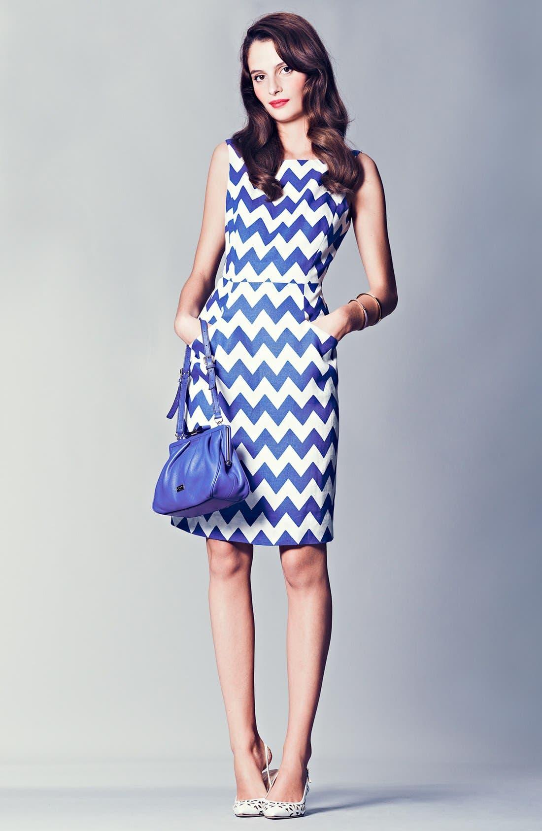 Alternate Image 4  - kate spade new york 'brent' linen sheath dress