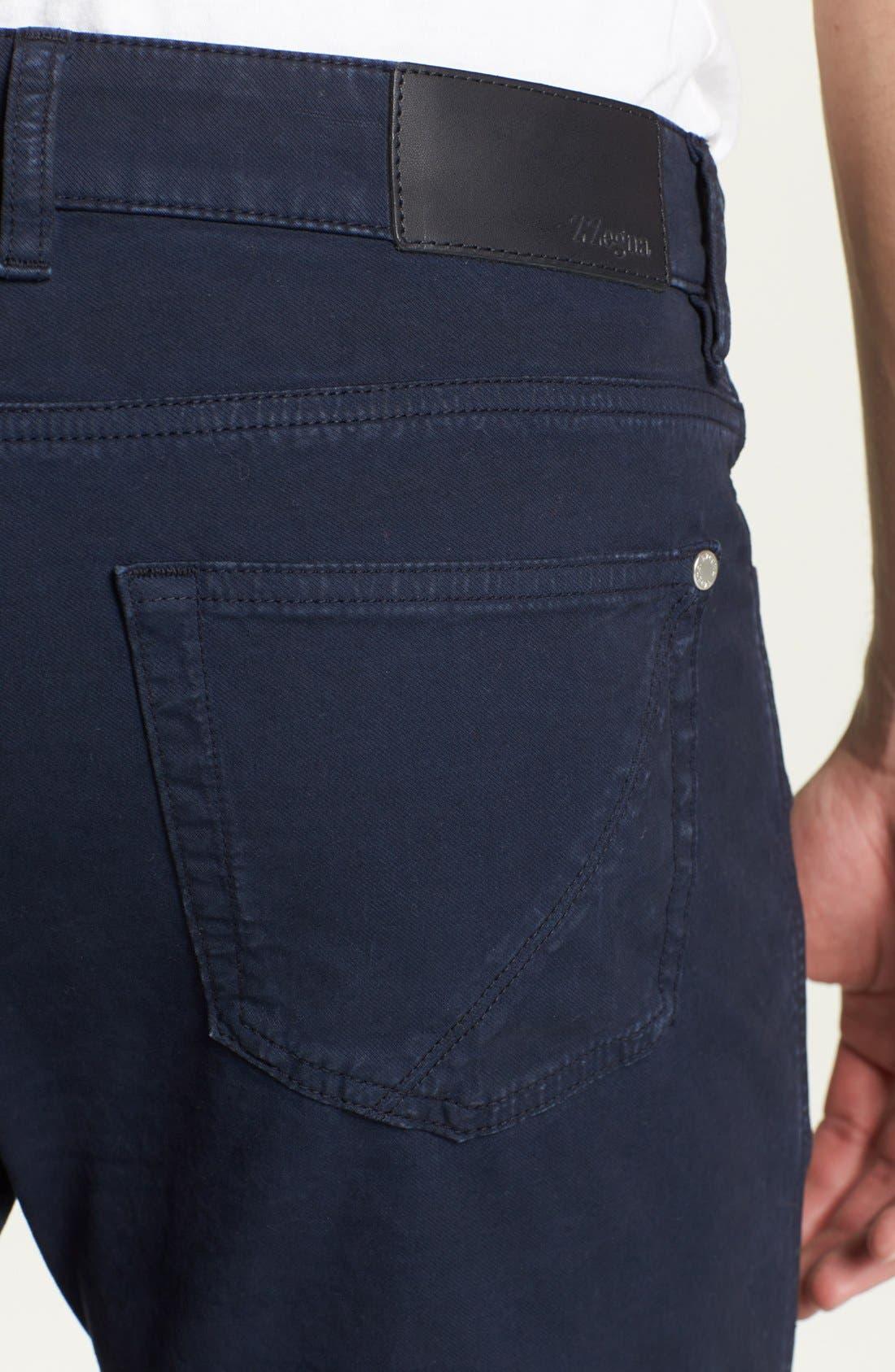 Alternate Image 4  - Z Zegna Slim Fit Jeans