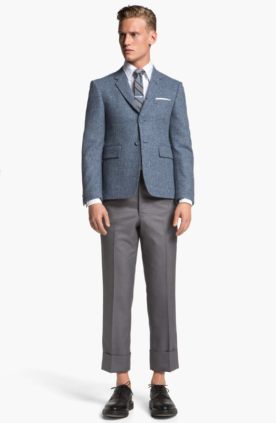 Alternate Image 4  - Thom Browne Three Button Wool Sportcoat