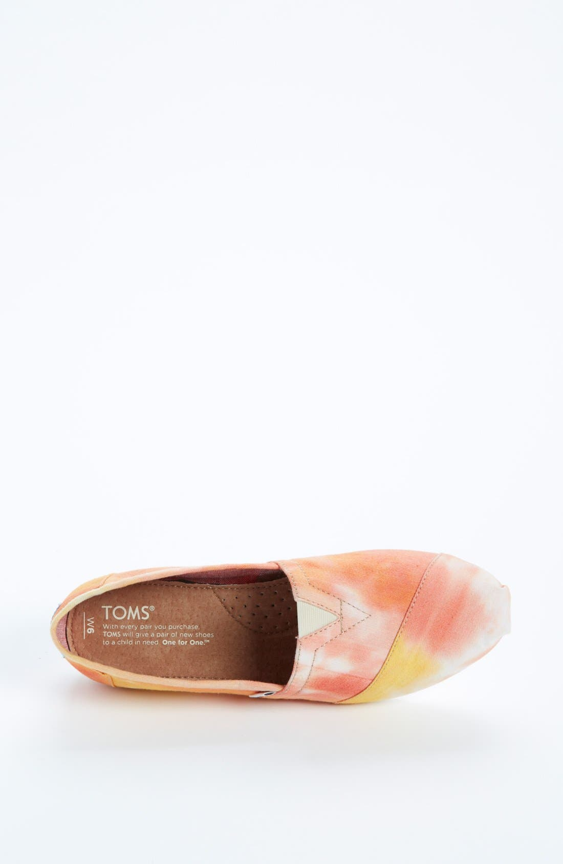 Alternate Image 3  - TOMS 'Classic - Tie Dye' Slip-On (Women)