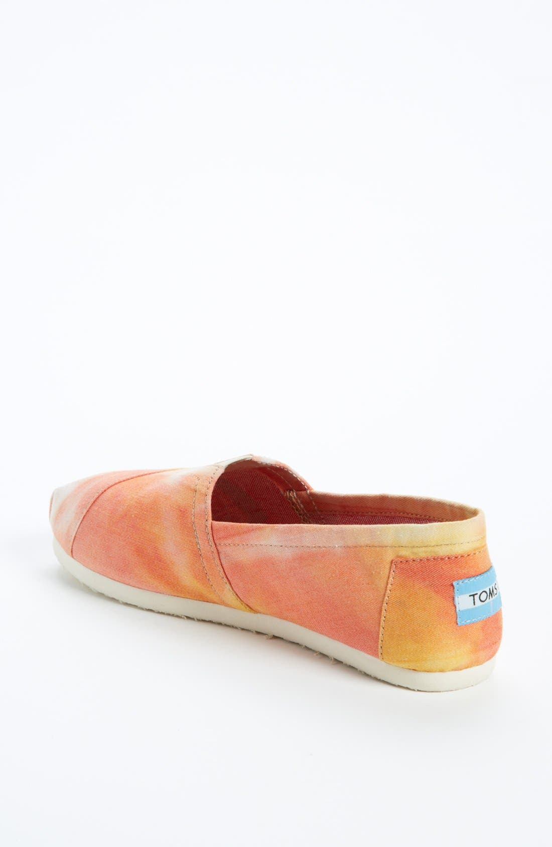 Alternate Image 2  - TOMS 'Classic - Tie Dye' Slip-On (Women)