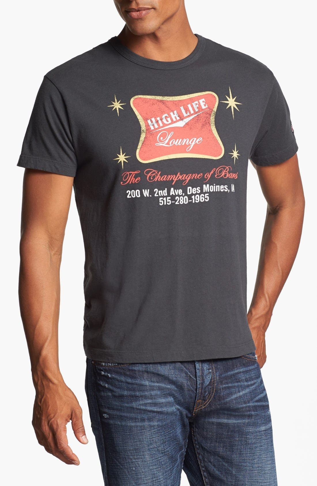 Alternate Image 1 Selected - Tailgate 'High Life Lounge' Trim Fit T-Shirt
