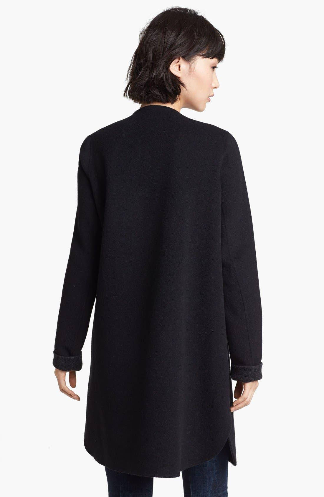 Alternate Image 2  - Vince Wool Blend Coat