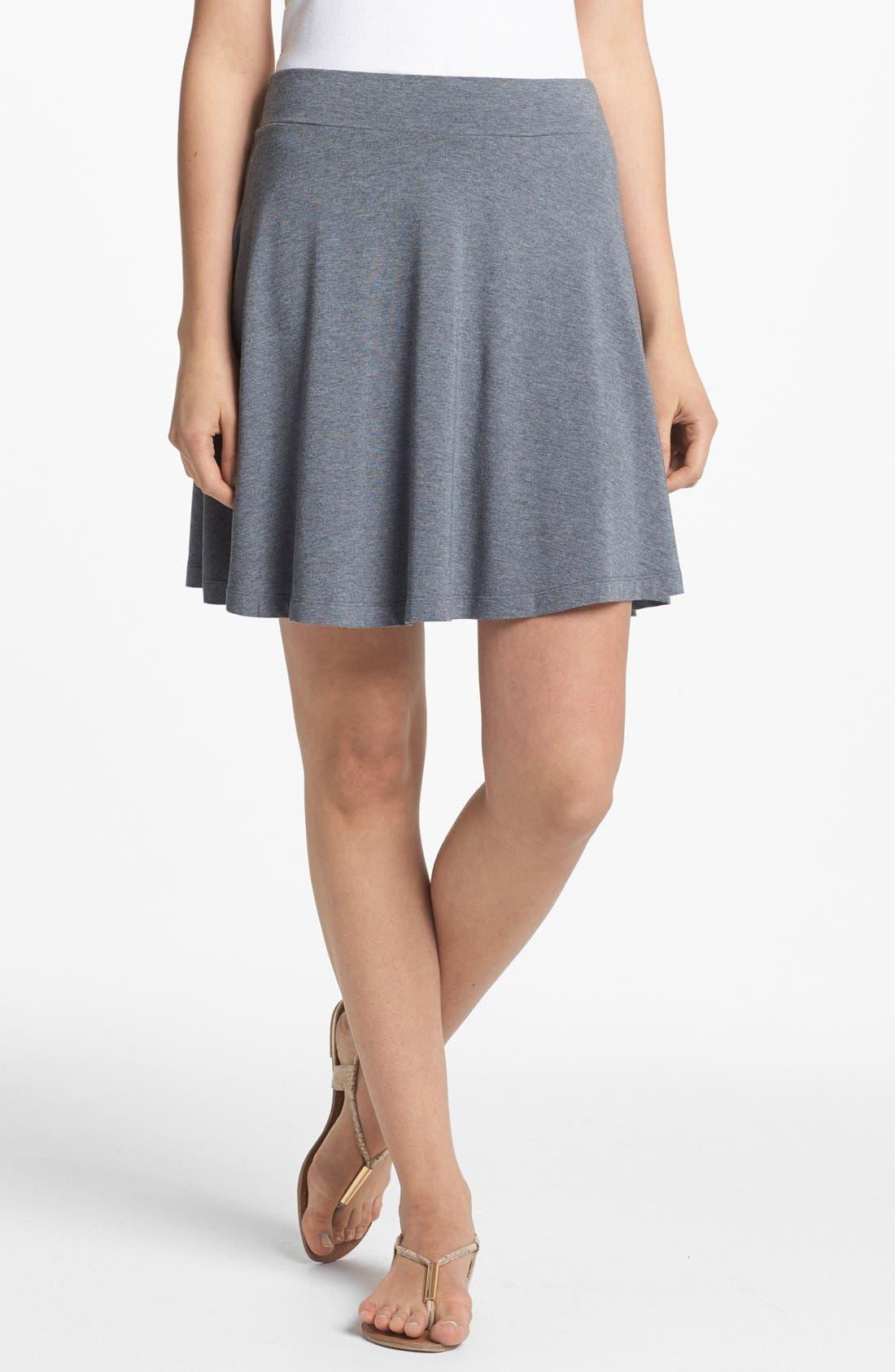 Main Image - Caslon® Knit Circle Skirt