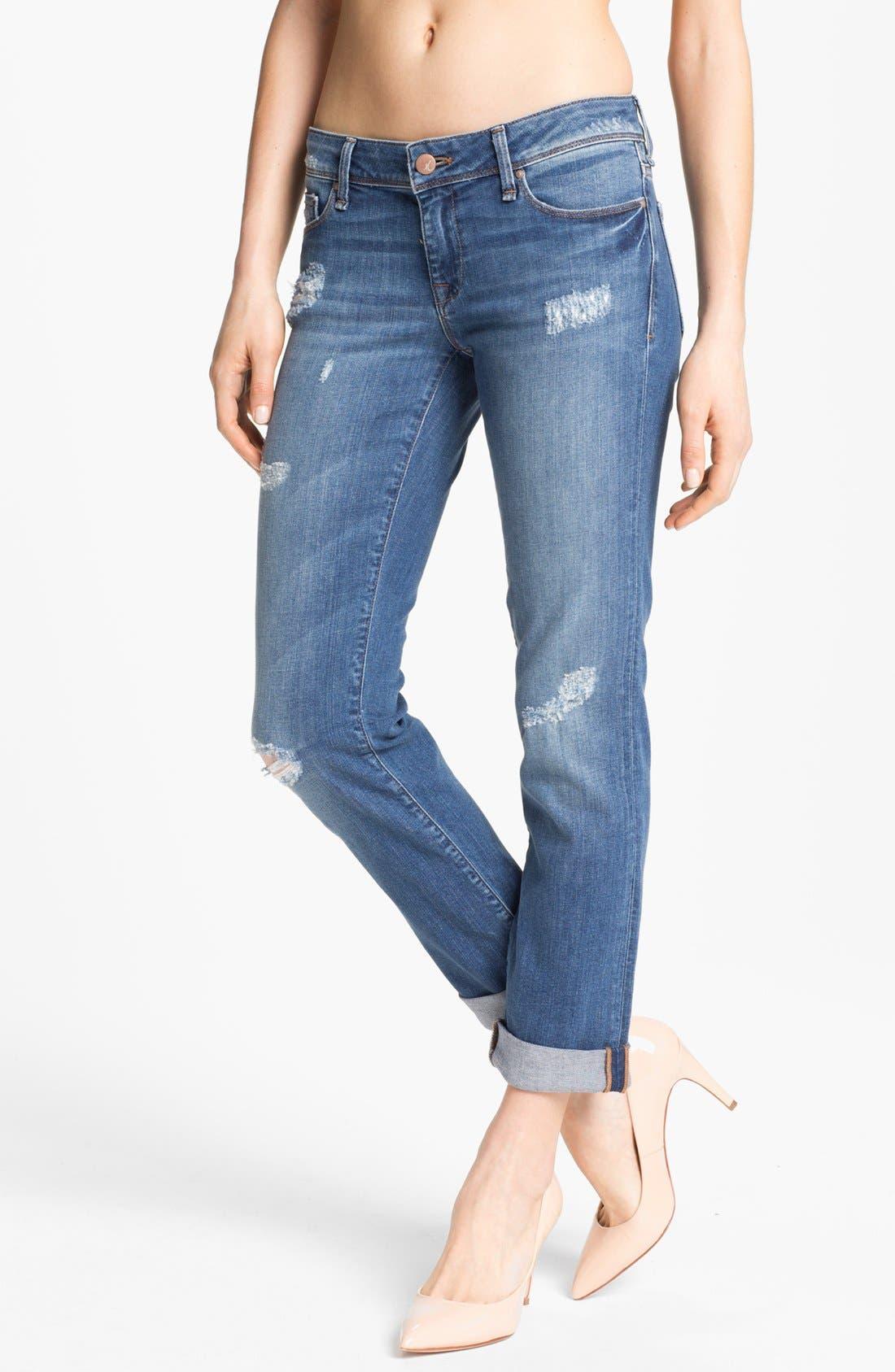 Alternate Image 2  - Mavi Jeans 'Emma' Slim Boyfriend Jeans (Nolita Blue) (Online Only)