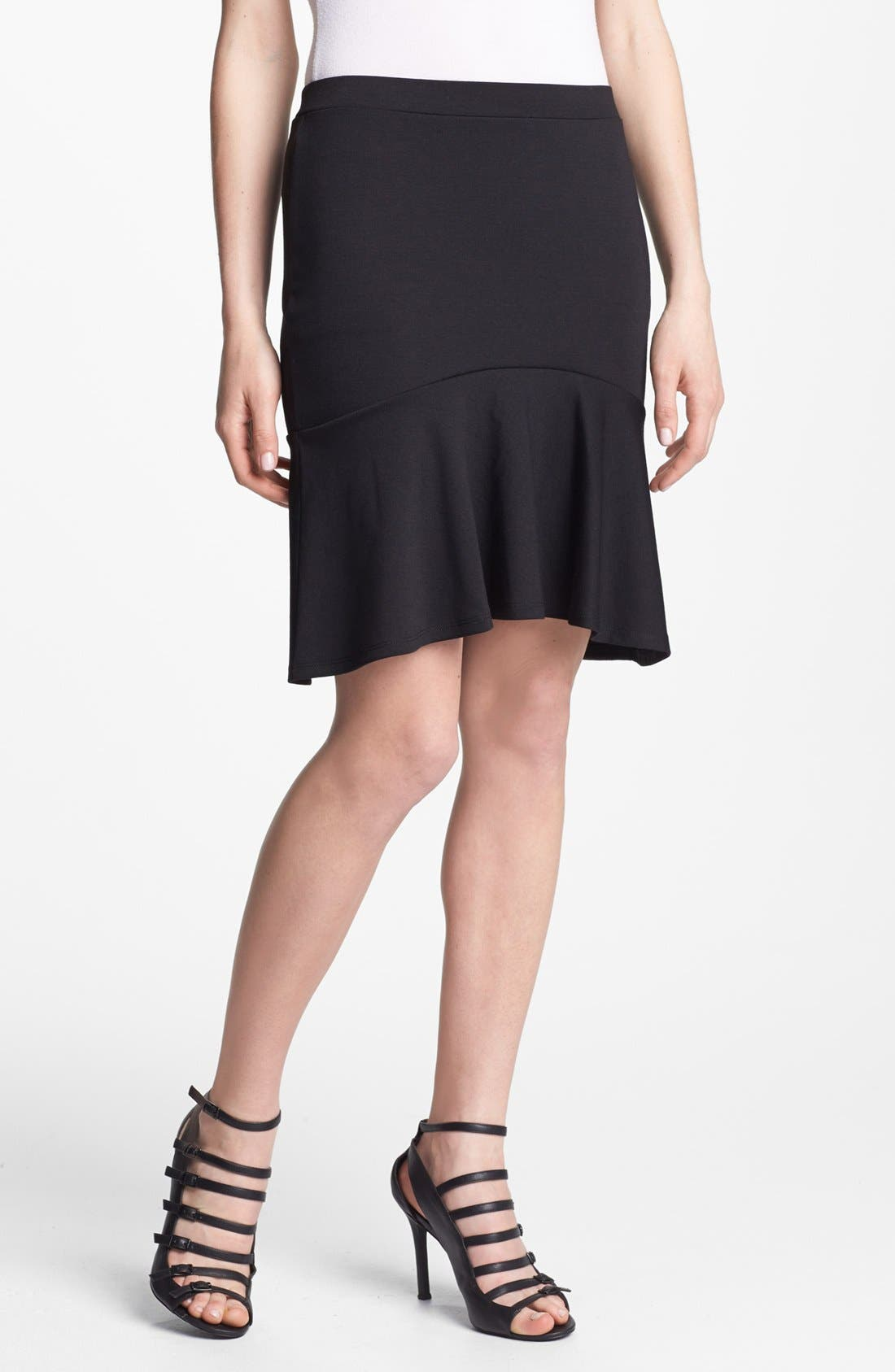 Alternate Image 1 Selected - Hinge® Ruffle Hem Skirt