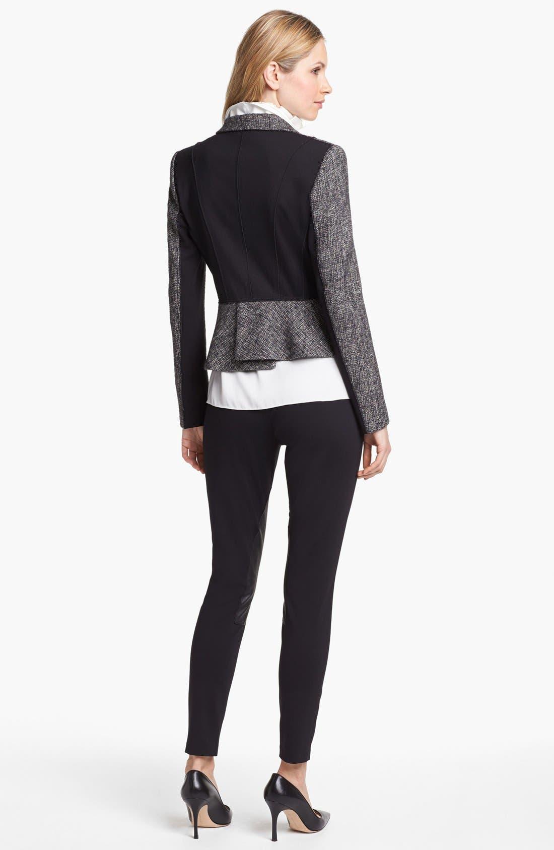 Alternate Image 4  - Elie Tahari 'Minka' Metallic Tweed Jacket