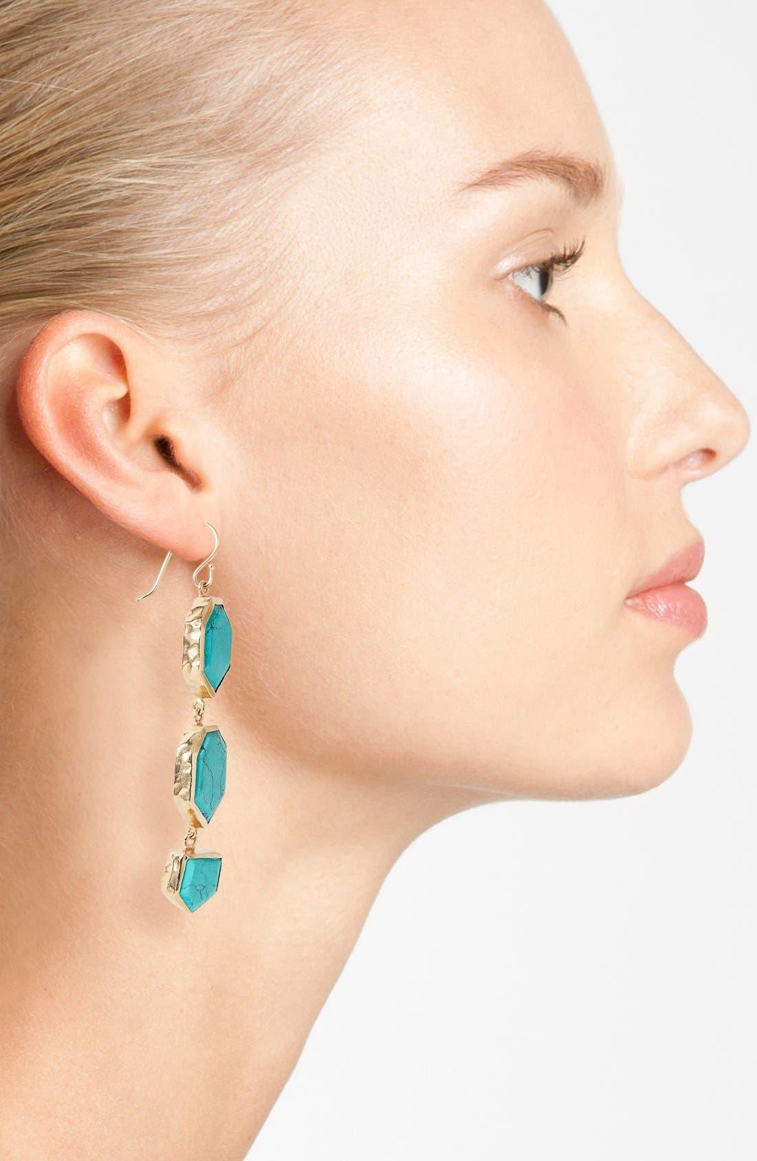 Alternate Image 2  - Melinda Maria 'Saldana Slice' Drop Earrings