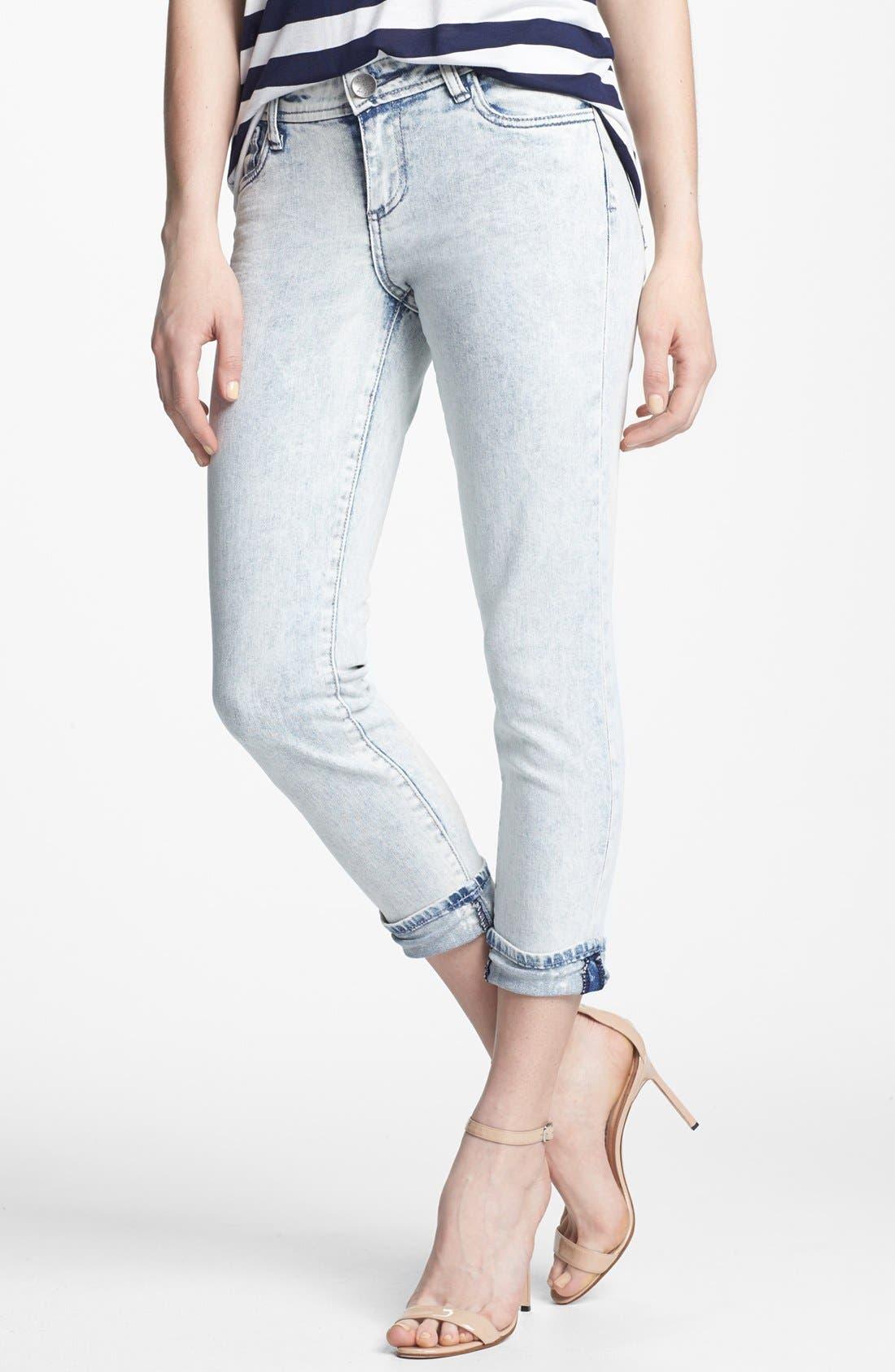 Main Image - KUT from the Kloth 'Catherine' Slim Boyfriend Jeans (Seemly)