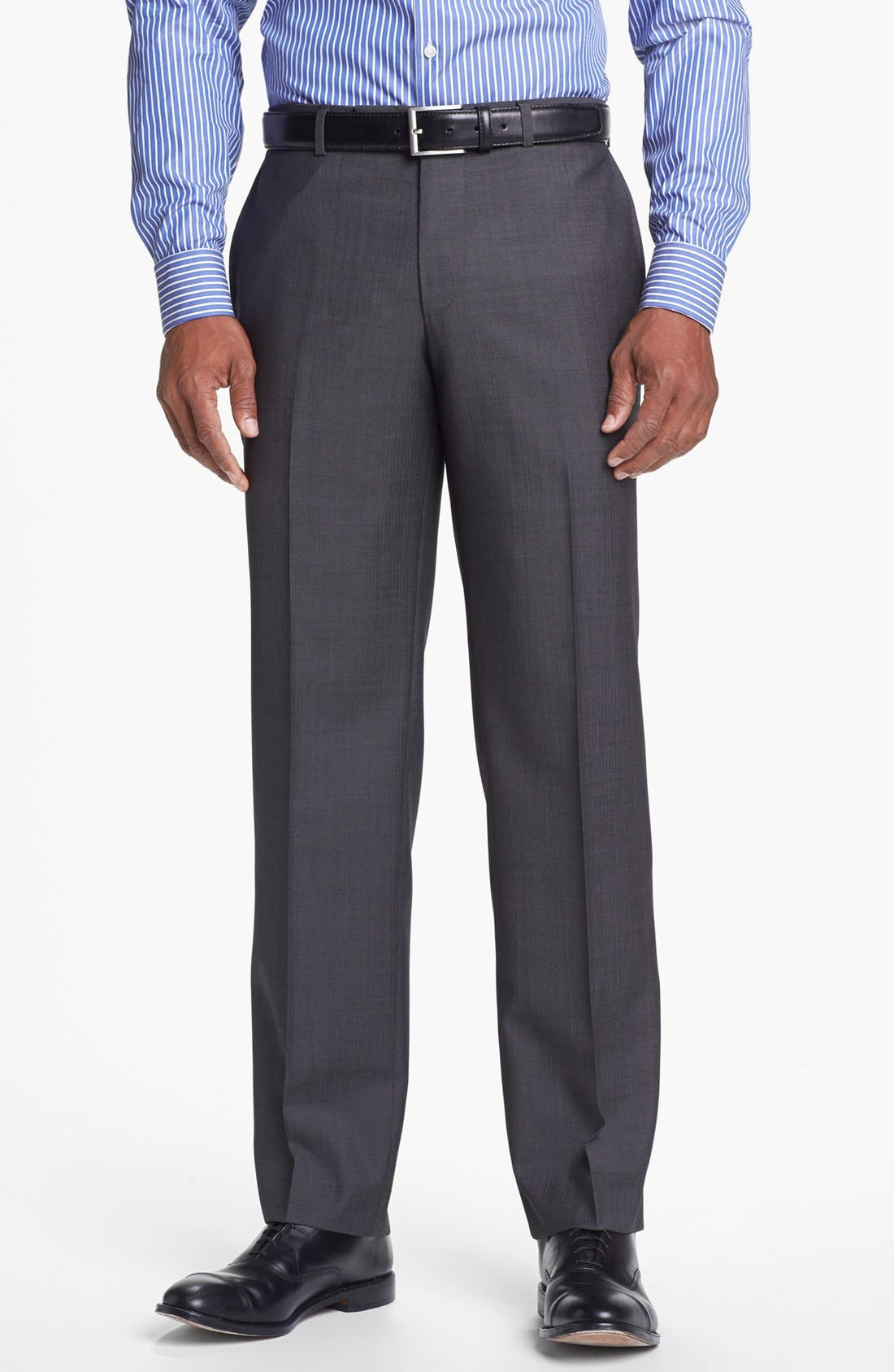 Alternate Image 5  - BOSS HUGO BOSS 'Edison/Power' Classic Fit Wool Suit