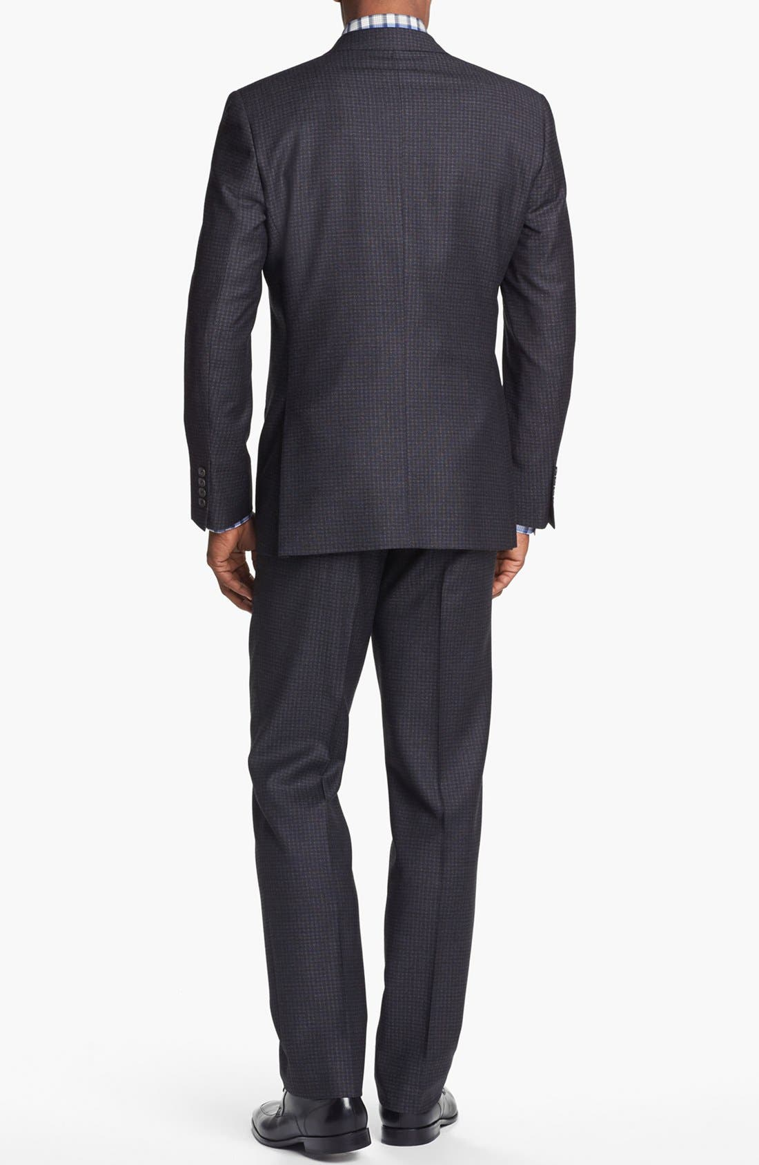 Alternate Image 3  - Ted Baker London 'Jones' Trim Fit Check Suit (Online Only)