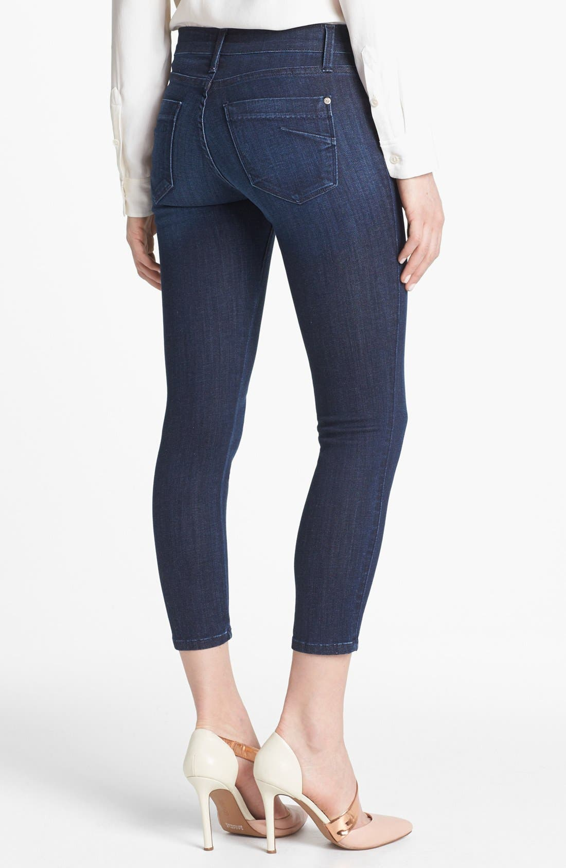 Alternate Image 2  - James Jeans Crop Skinny Jeans (Petite) (Online Only)