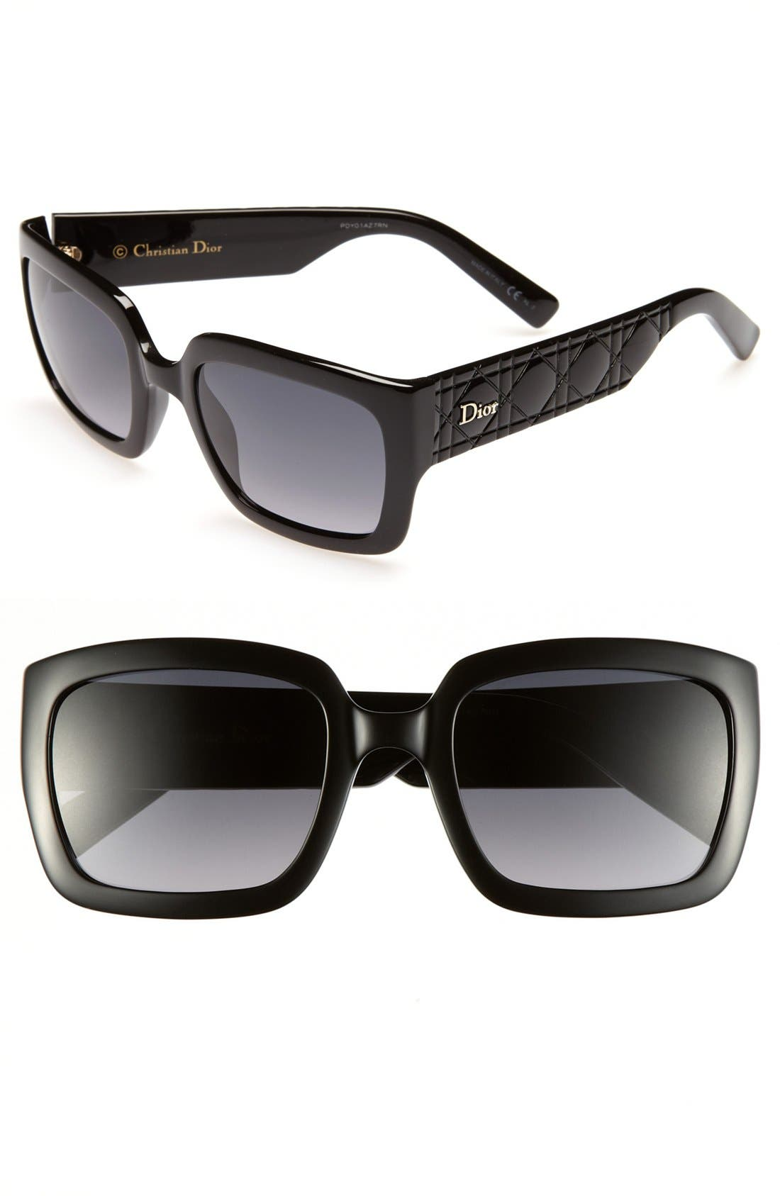 Alternate Image 1 Selected - Dior 'My Dior - Special Fit' 53mm Sunglasses